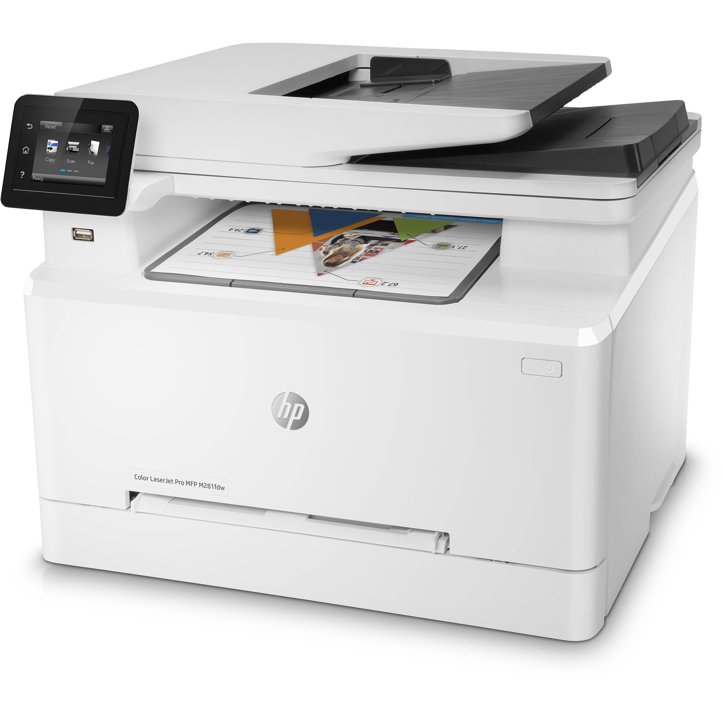 Hp Color Laserjet Pro M281fdw All In One Laser Printer Home Images Circuits Facebook Twitter Google