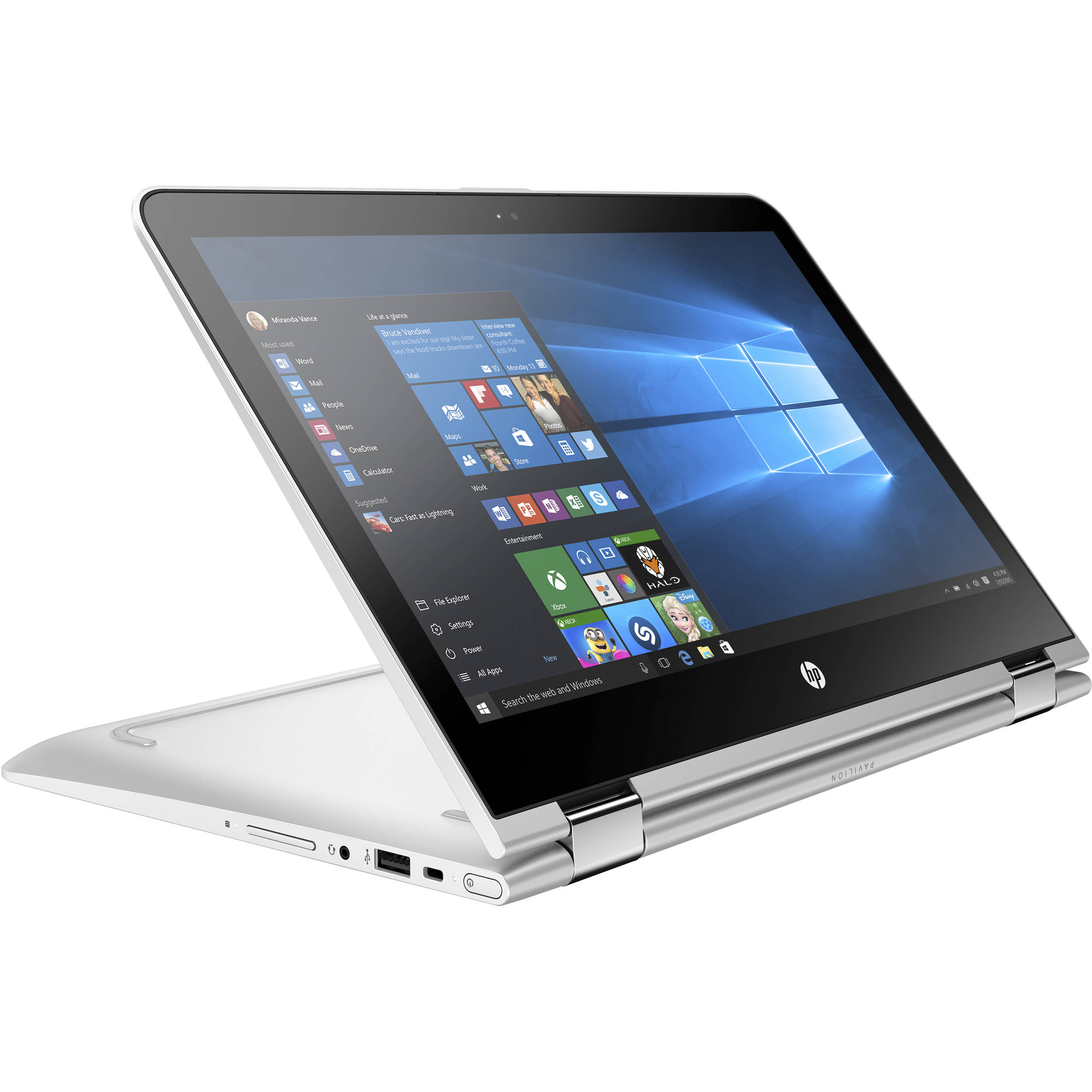 Hp 13 3 Pavilion X360 U163nr Multi Touch 2 In 1 Laptop