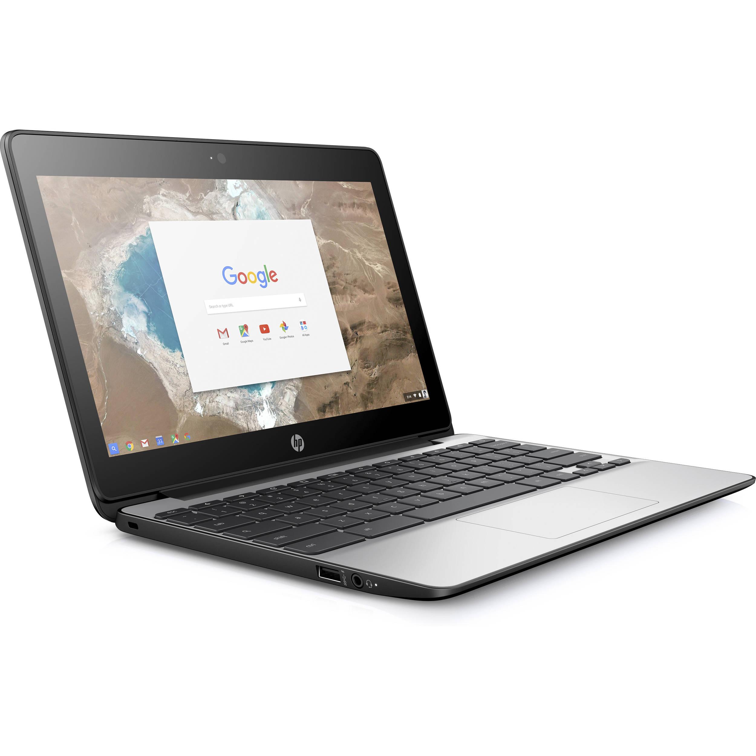 Hp 11 6 Quot 32gb Chromebook 11 G5 X9u03ut Aba B Amp H Photo Video