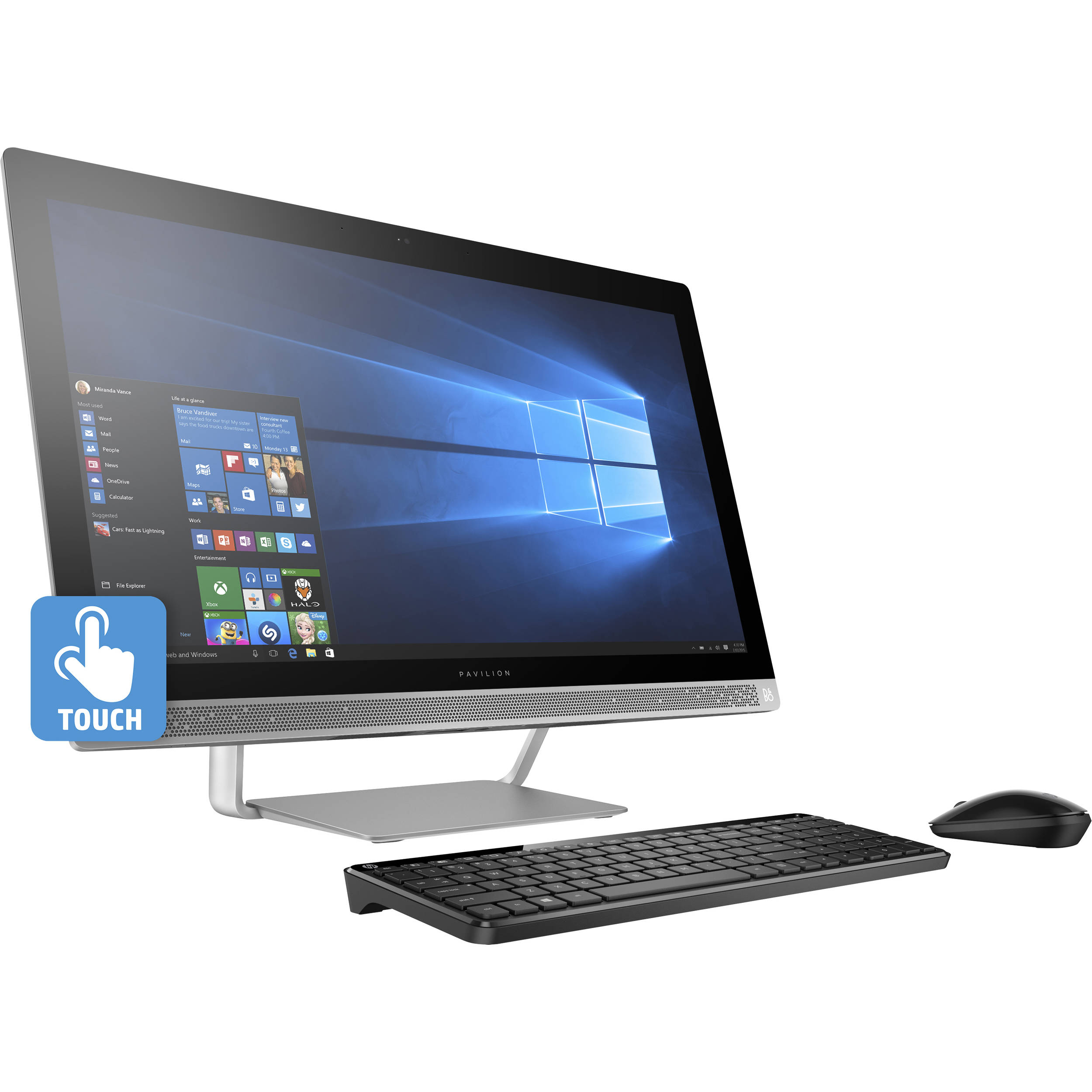 hp 27 pavilion 27 a230 multi touch all in one z5m04aa aba