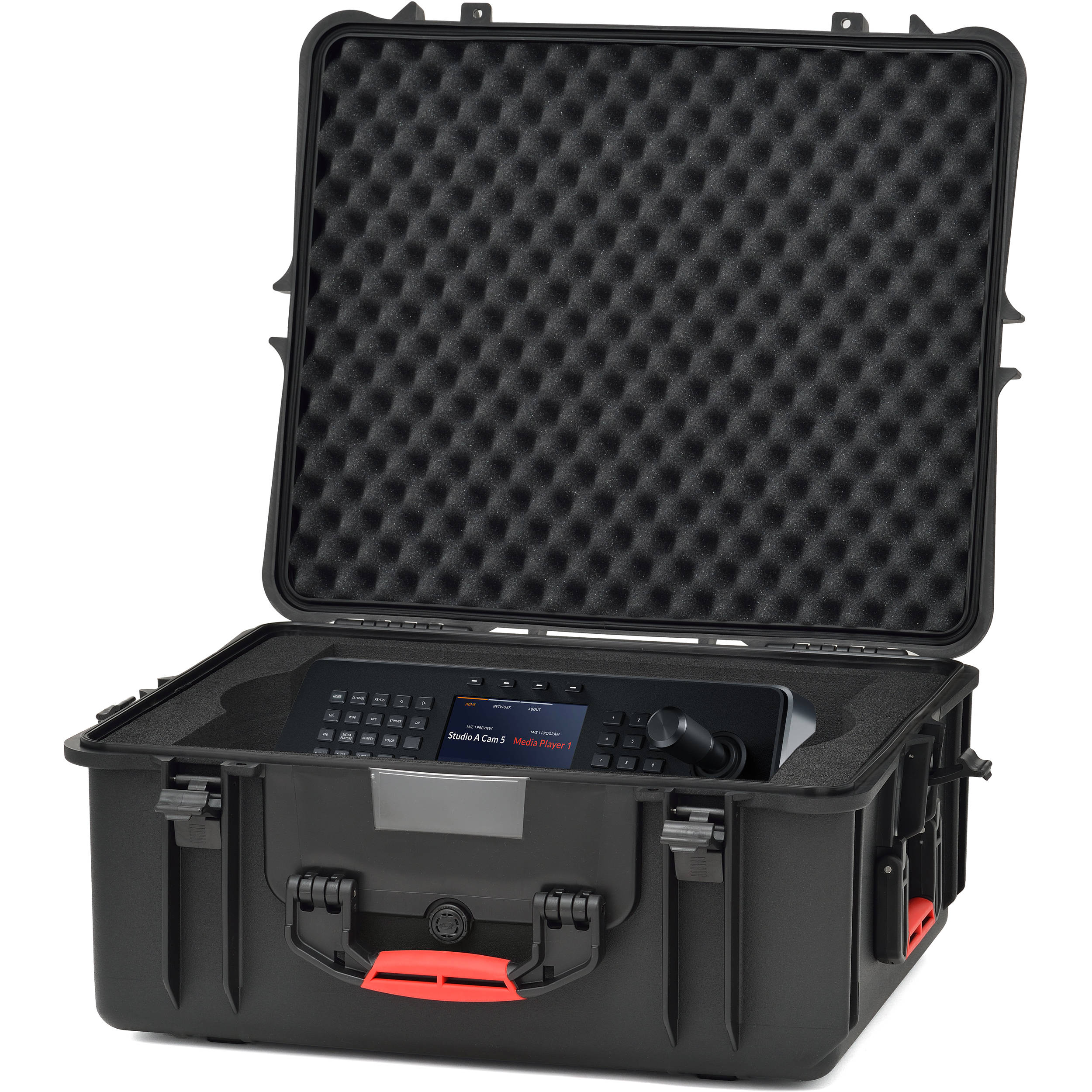 HPRC 2710 Hard Case with Foam for Black Magic ATEM 1 M/E + Accessories
