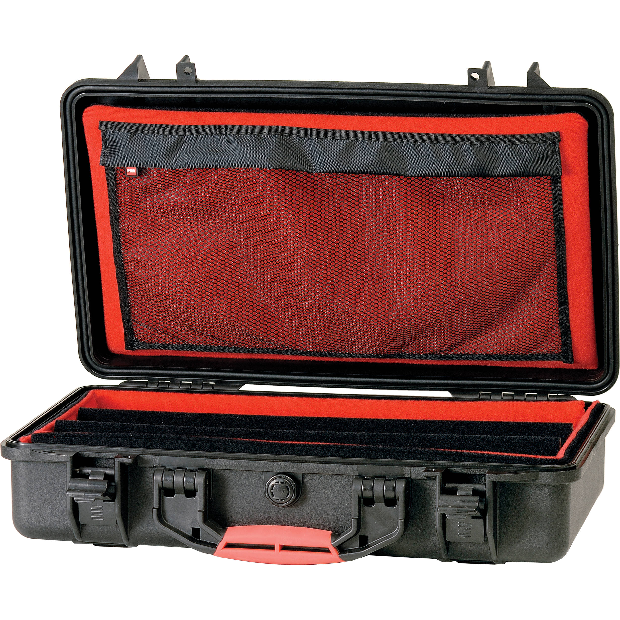 hprc 2530 waterproof hard case with soft padded open hprc2530dk. Black Bedroom Furniture Sets. Home Design Ideas