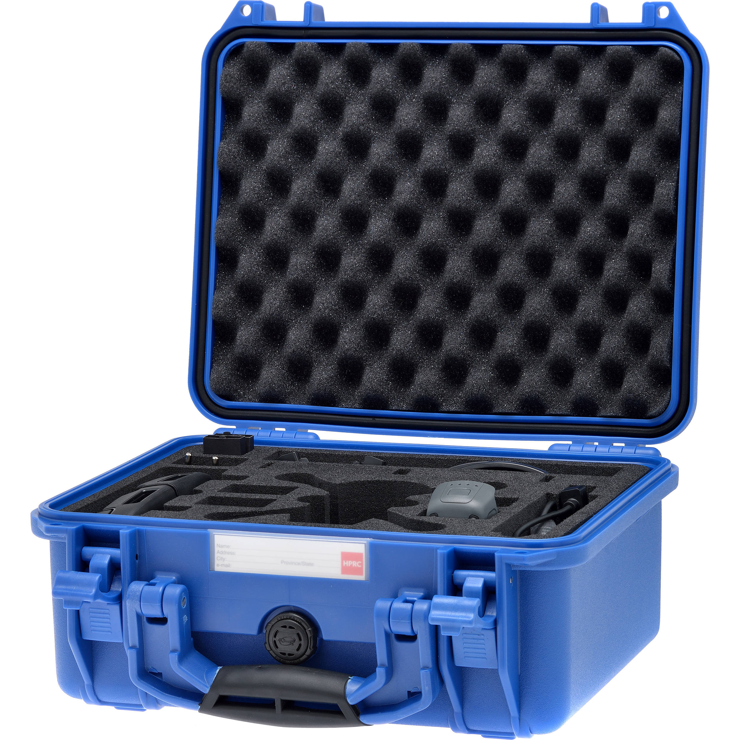 HPRC SPK2300 Hard-Shell Case for DJI Spark Fly More Combo (Electric Blue) 0311b2fcea77