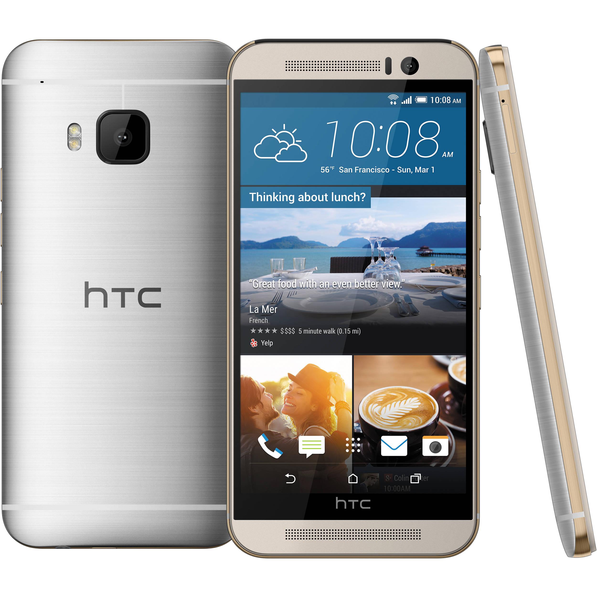 used htc one m9 32gb smartphone htc m9gsm s b h photo video rh bhphotovideo com HTC Cell Phones 2014 htc cell phone manual