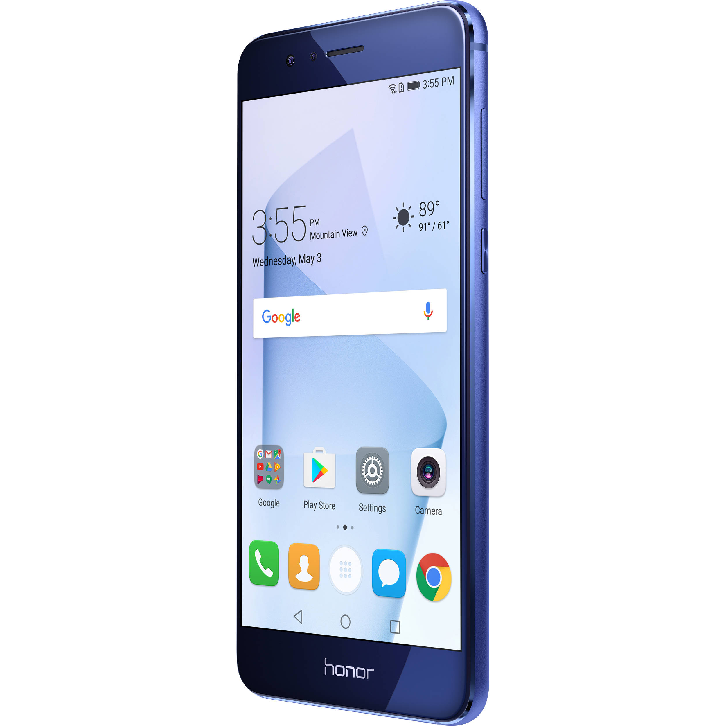 huawei honor 8 32gb smartphone unlocked sapphire blue. Black Bedroom Furniture Sets. Home Design Ideas