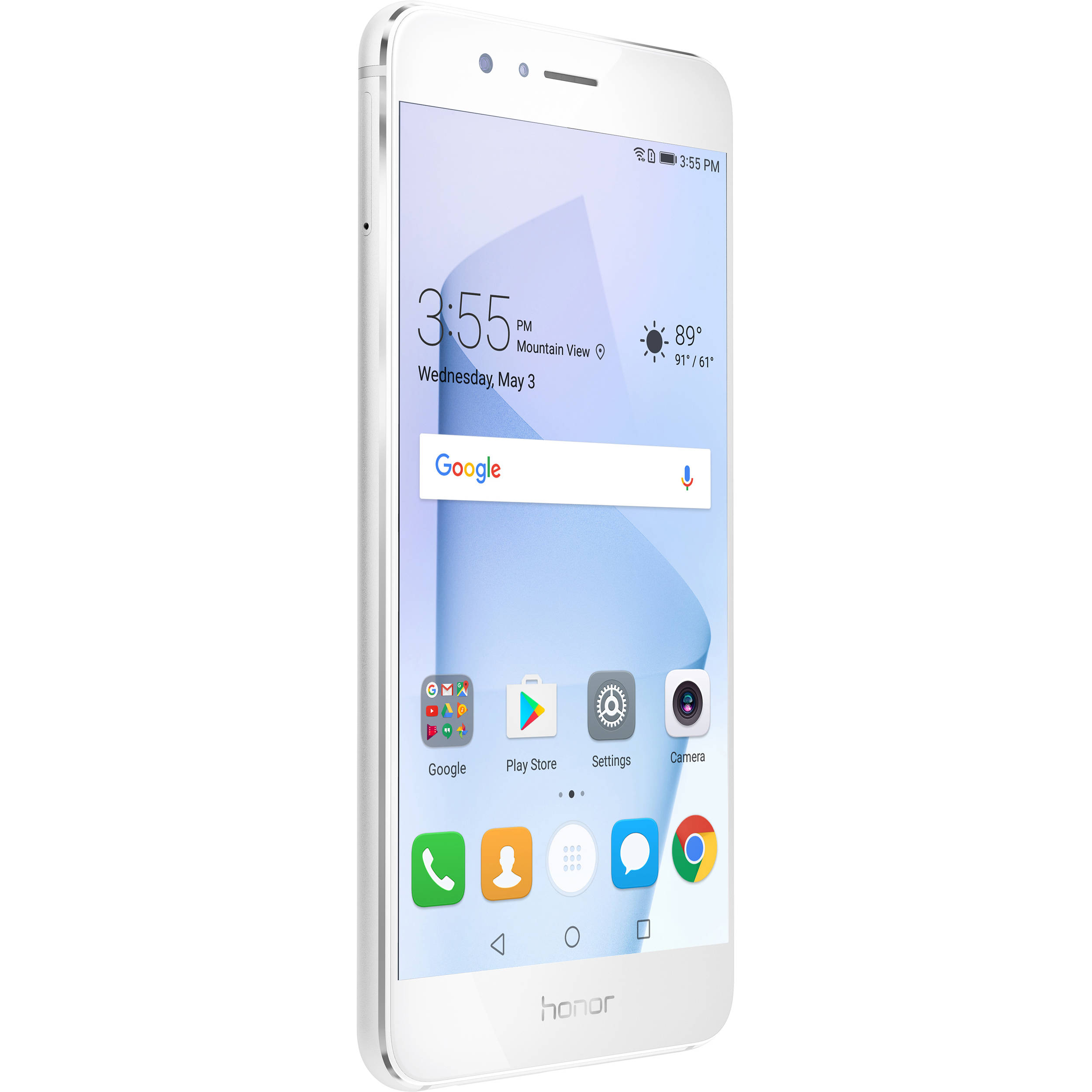 huawei honor 8. huawei honor 8 64gb smartphone (unlocked, pearl white)