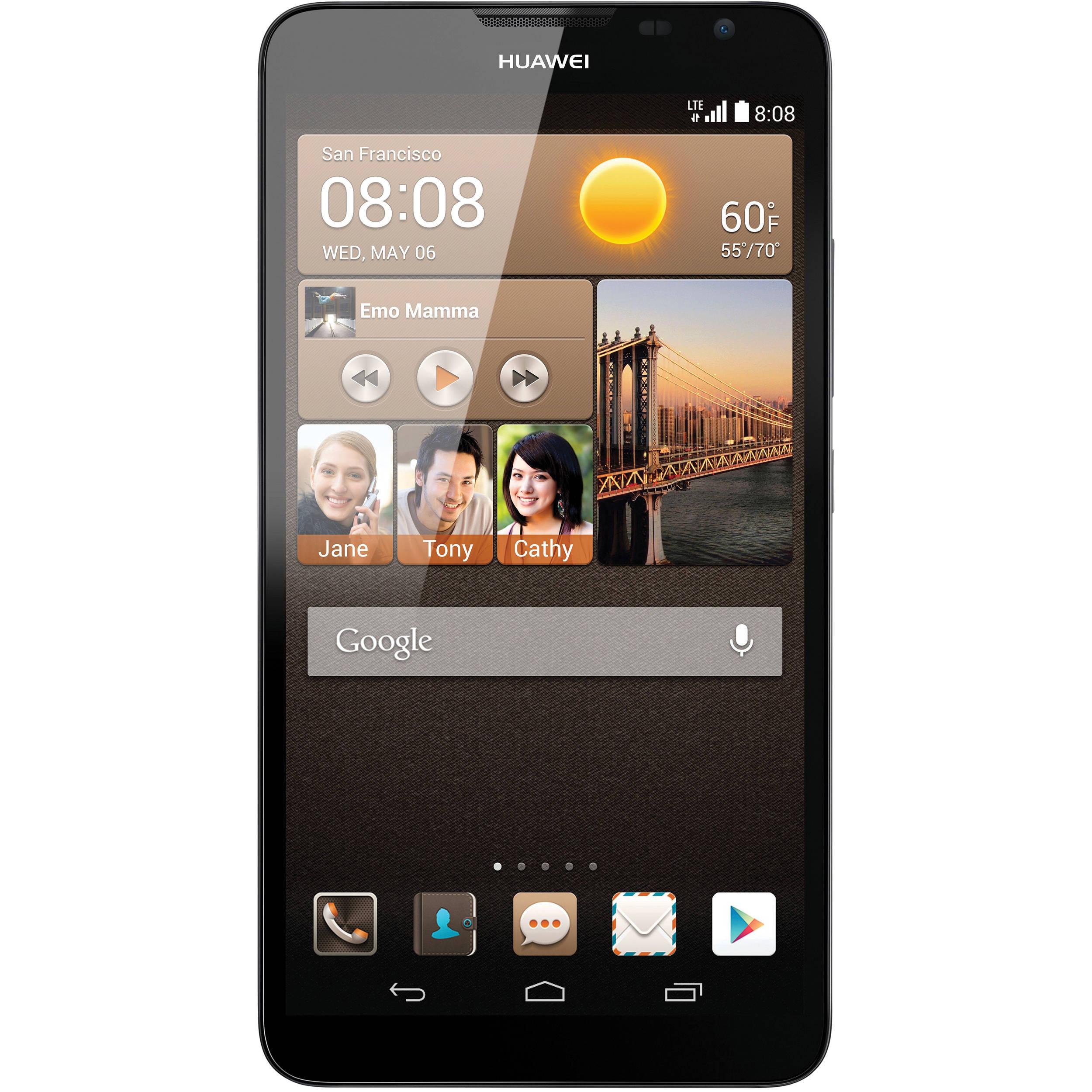 huawei phone straight talk. huawei ascend mate2 mt2-l03 4g 16gb smartphone (unlocked, black) phone straight talk