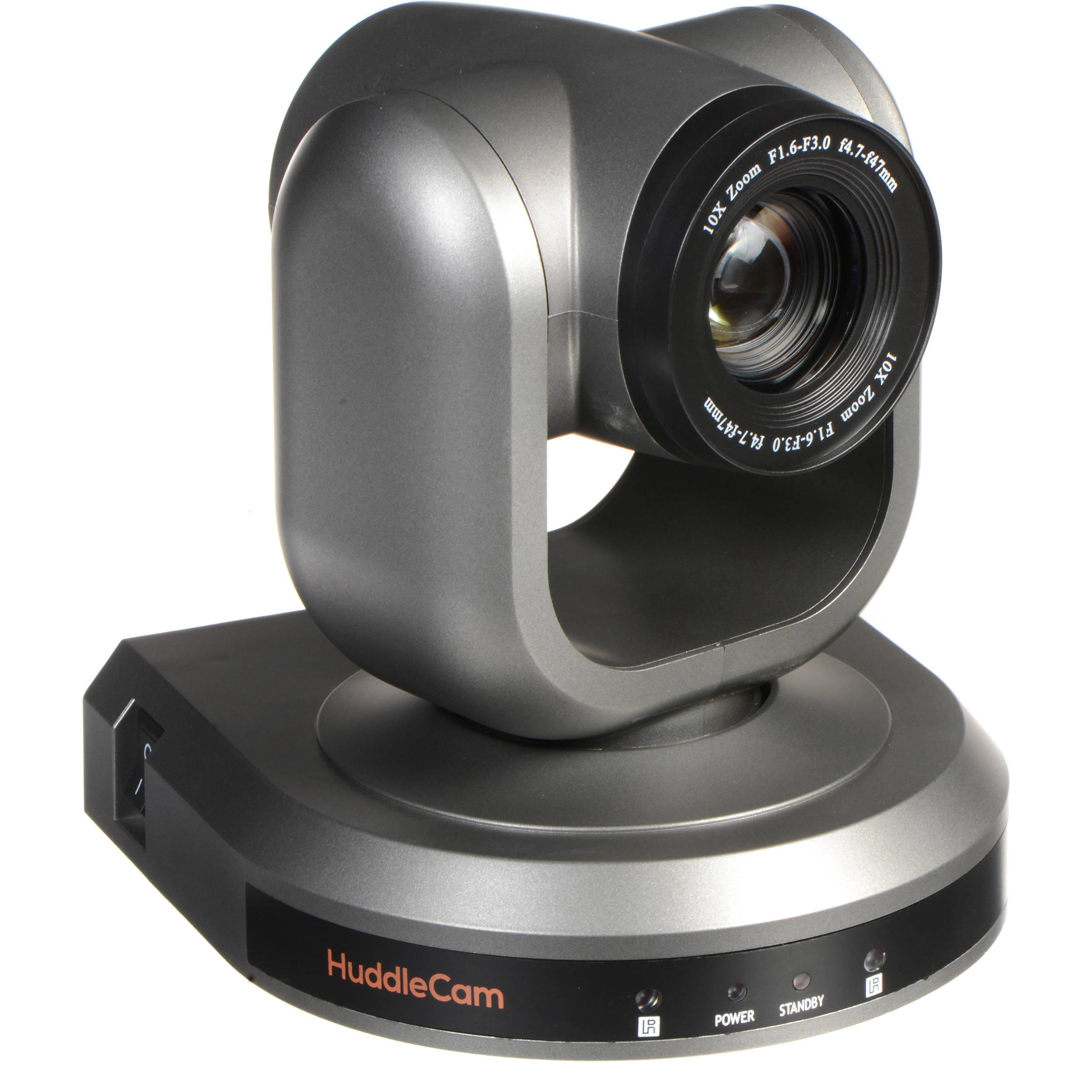 HuddleCamHD 10X-GY-G3 PTZ Camera (Gray) HC10X-GY-G3 B&H Photo