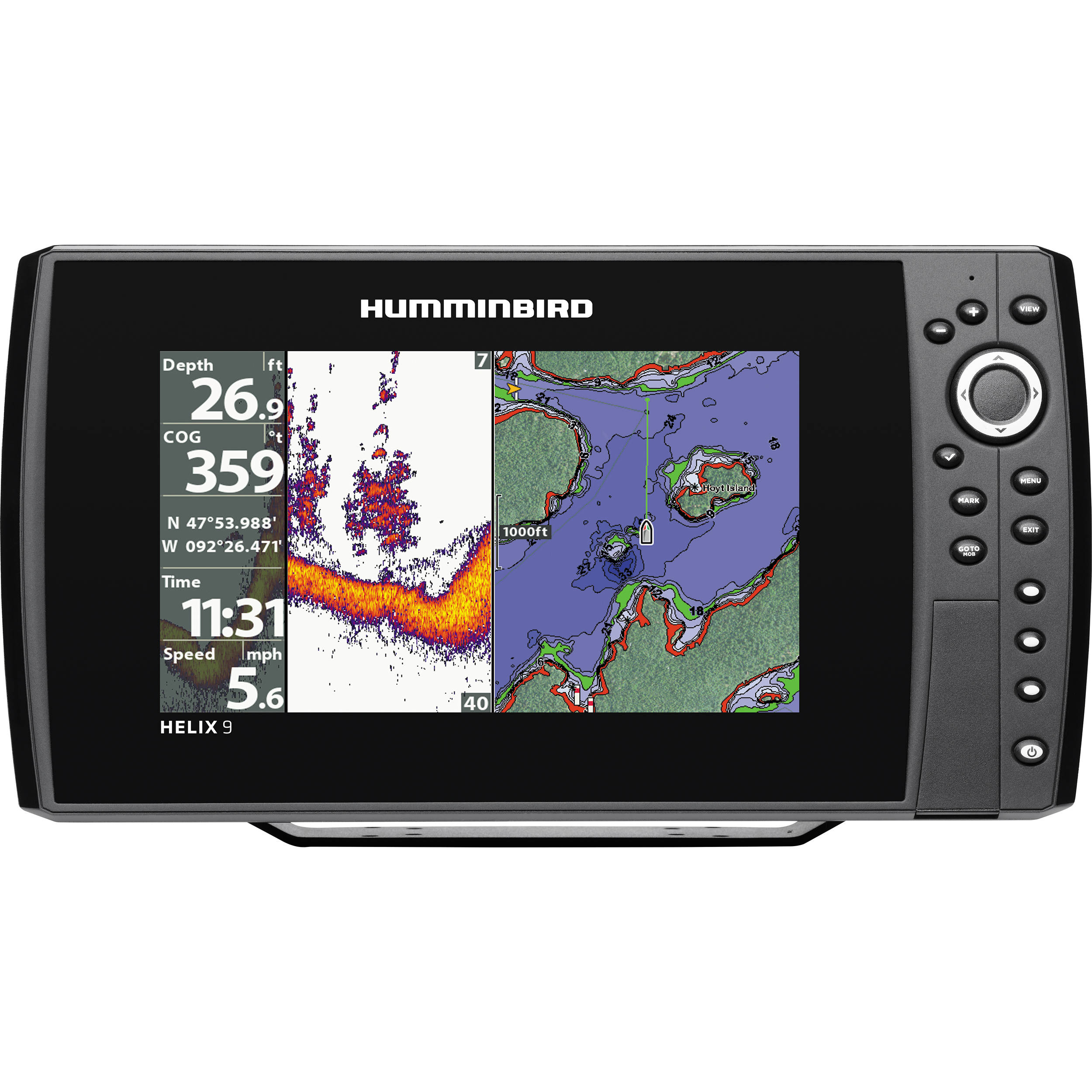 how to program sd card for humminbird fish finder