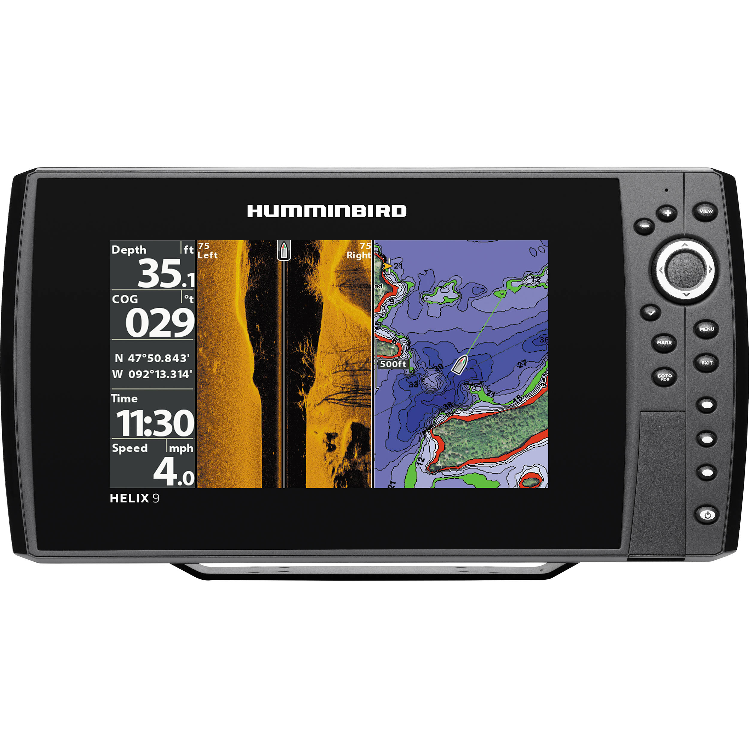 humminbird helix 9 si gps fishfinder 409950-1 b&h photo video, Fish Finder