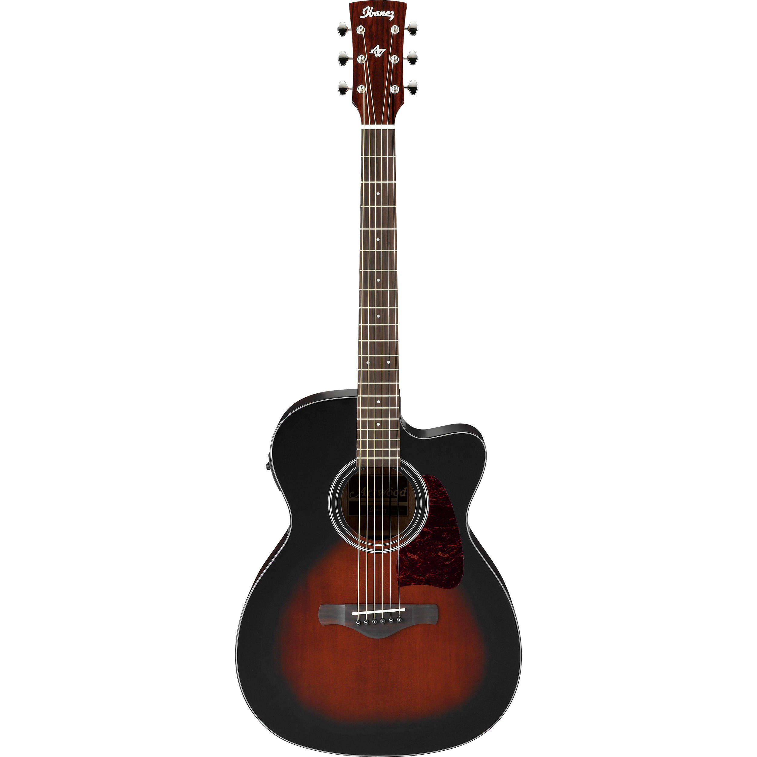 used ibanez artwood series ac400ce acoustic electric ac400cedvs. Black Bedroom Furniture Sets. Home Design Ideas