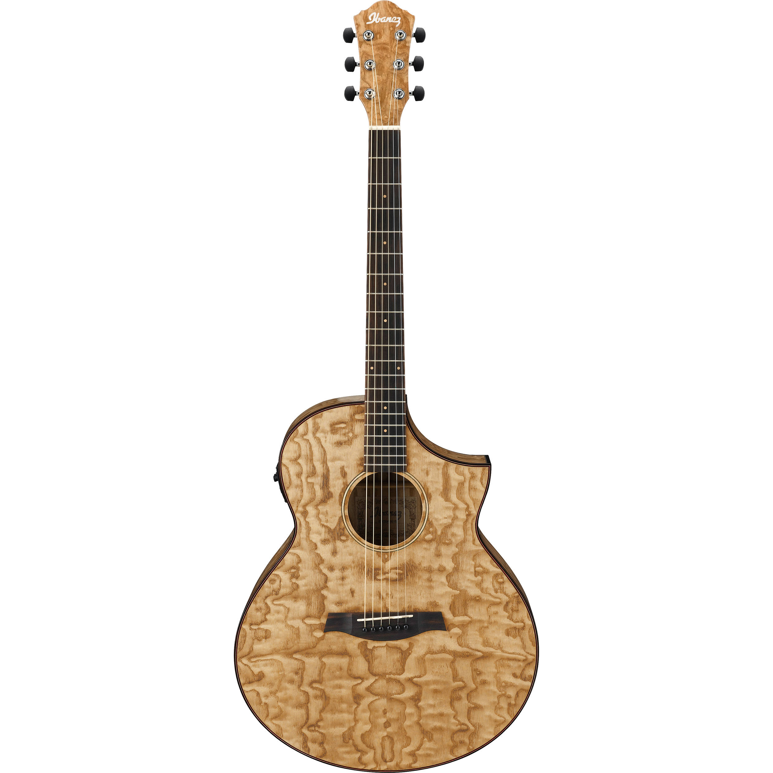 ibanez aew40asnt exotic wood series acoustic electric aew40asnt. Black Bedroom Furniture Sets. Home Design Ideas