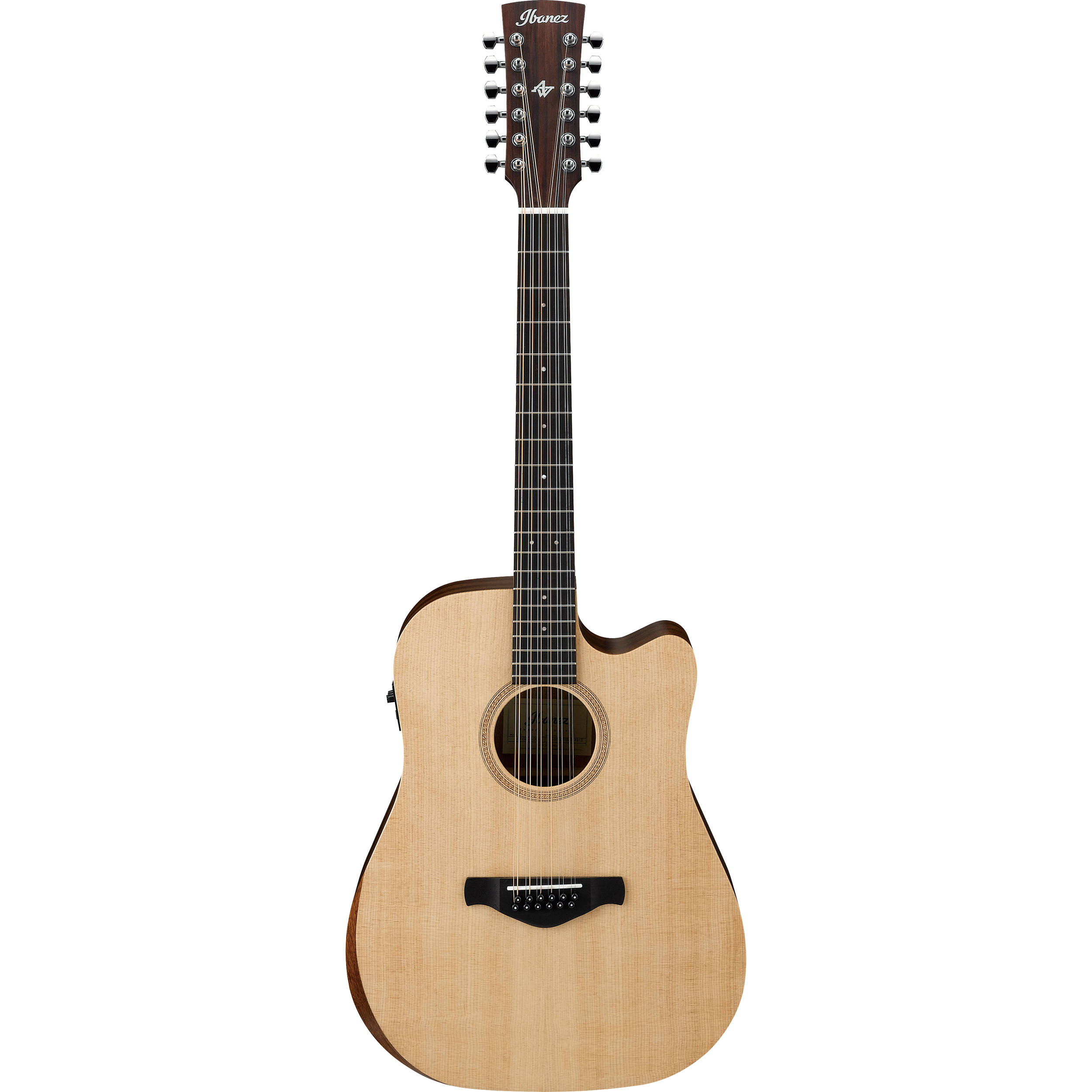 ibanez aw152ce artwood 12 string acoustic electric aw152ceopn. Black Bedroom Furniture Sets. Home Design Ideas