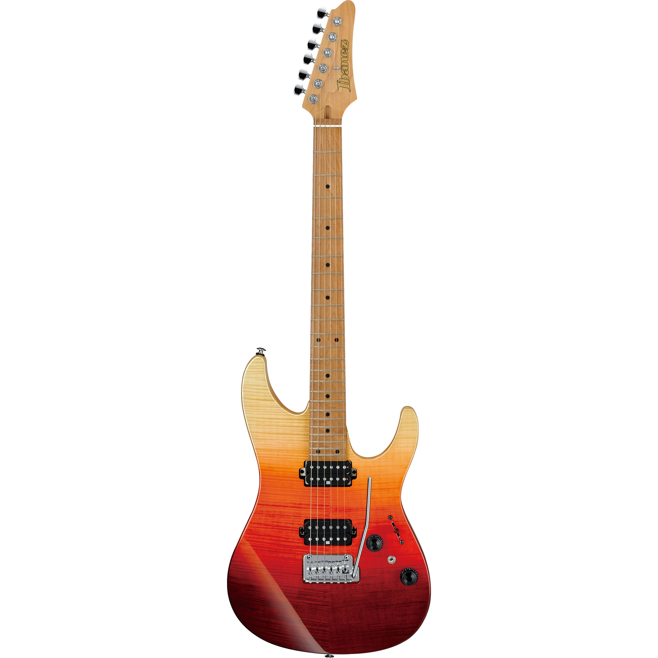 Ibanez Az242f Premium Series Electric Guitar Az242ftsg Bh Photo