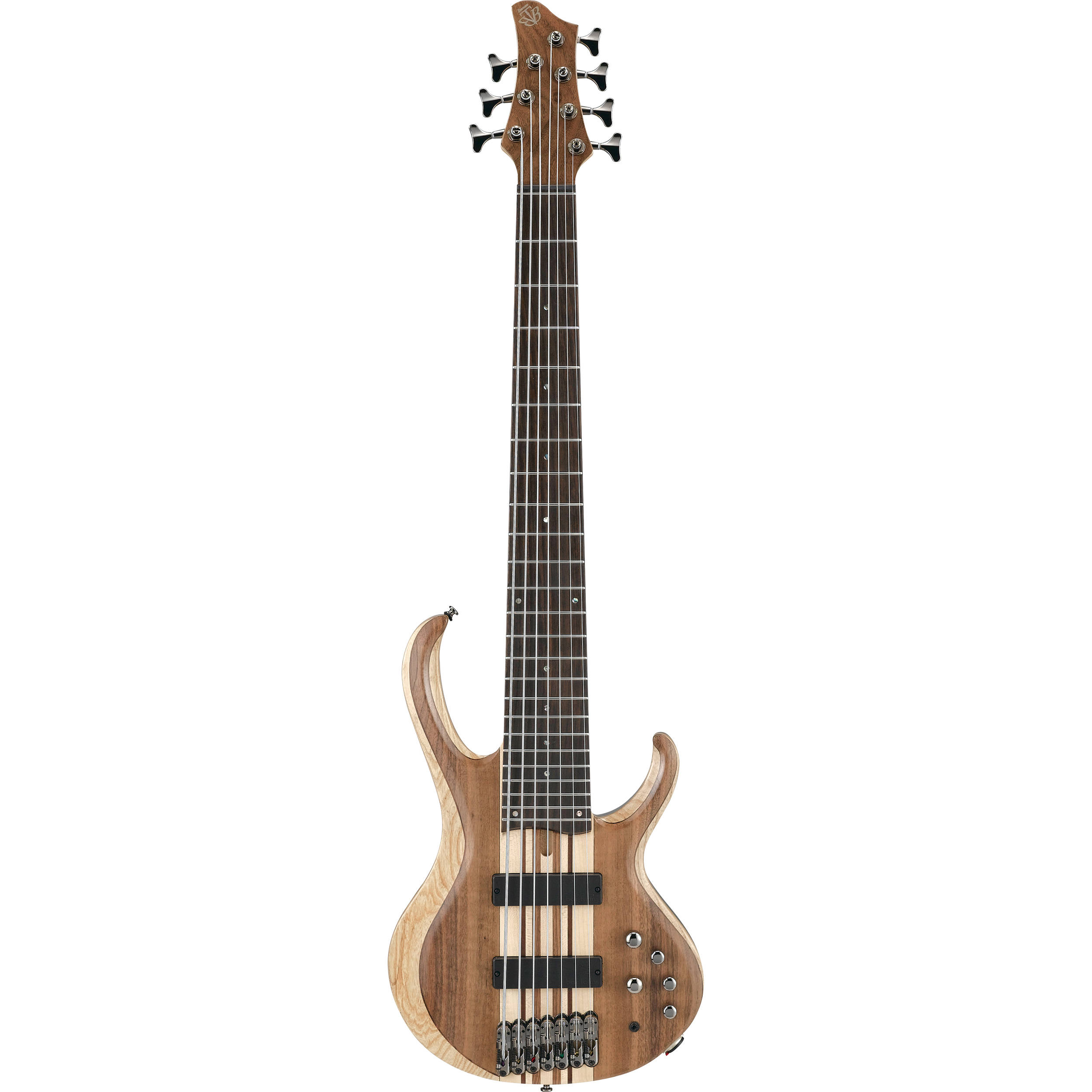 ibanez btb747 7 string electric bass natural low gloss. Black Bedroom Furniture Sets. Home Design Ideas