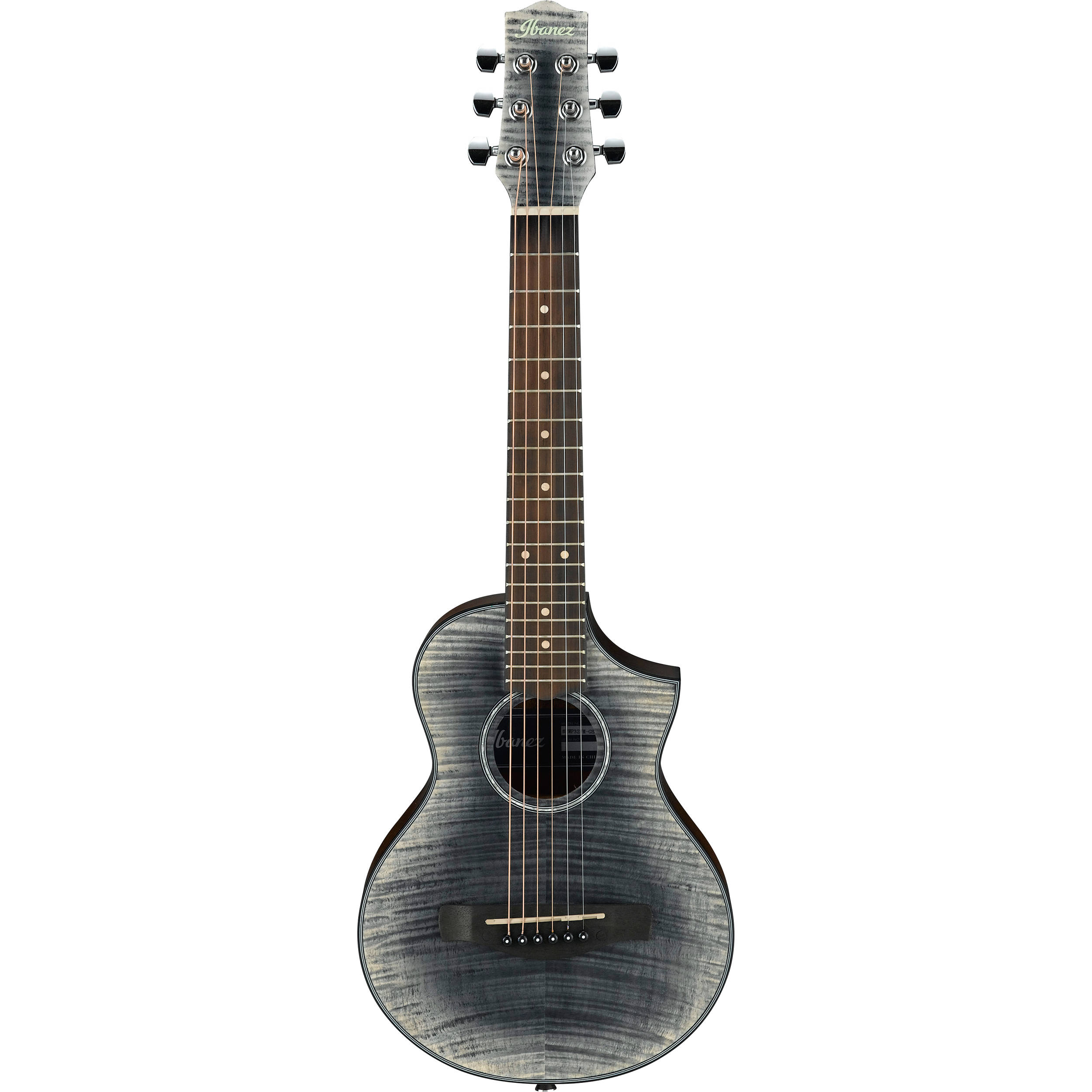 Ibanez Ewp32fm Ewp Series Acoustic Guitar Ewp32fmgbk B H Photo