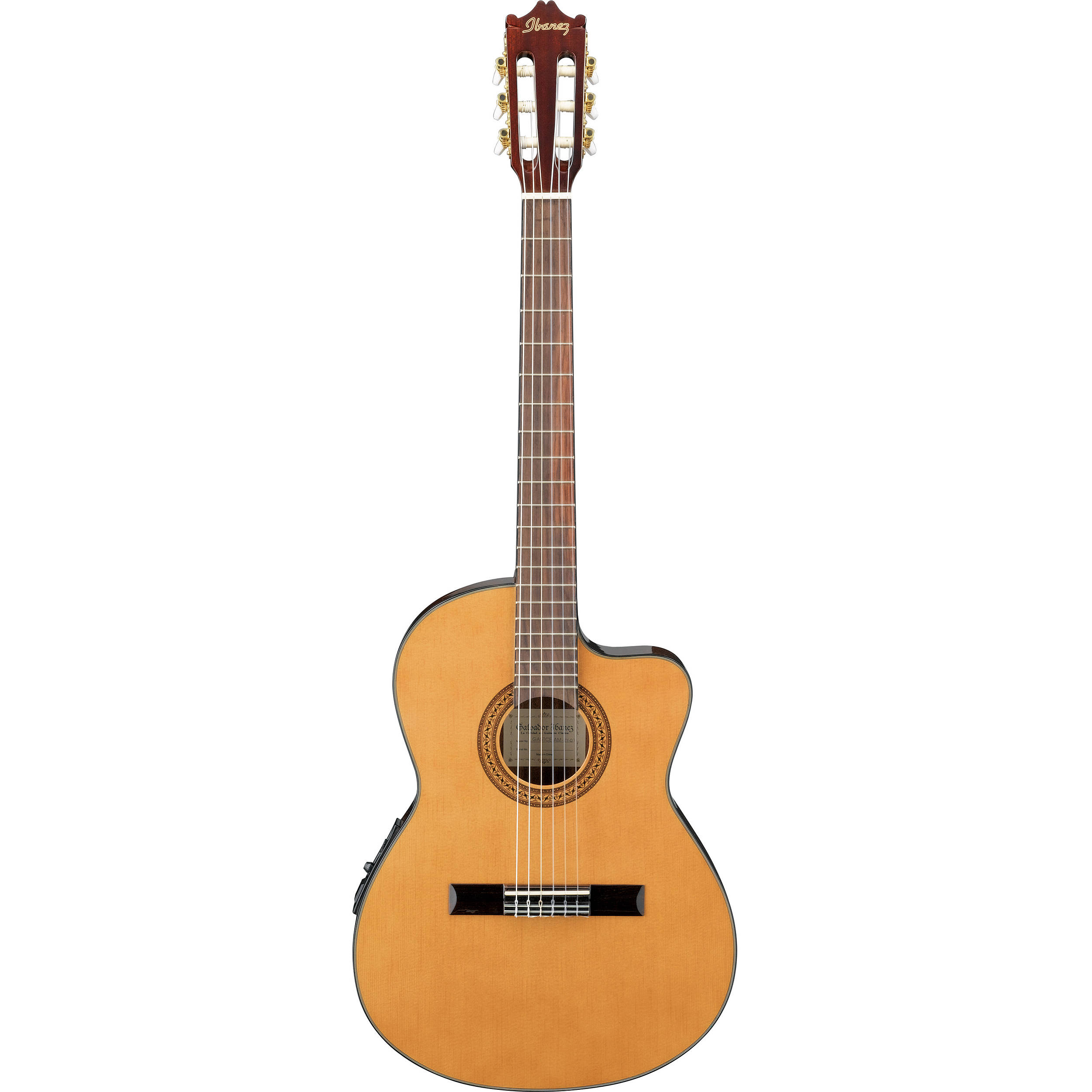 ibanez ga5tce acoustic electric thin line classical guitar. Black Bedroom Furniture Sets. Home Design Ideas