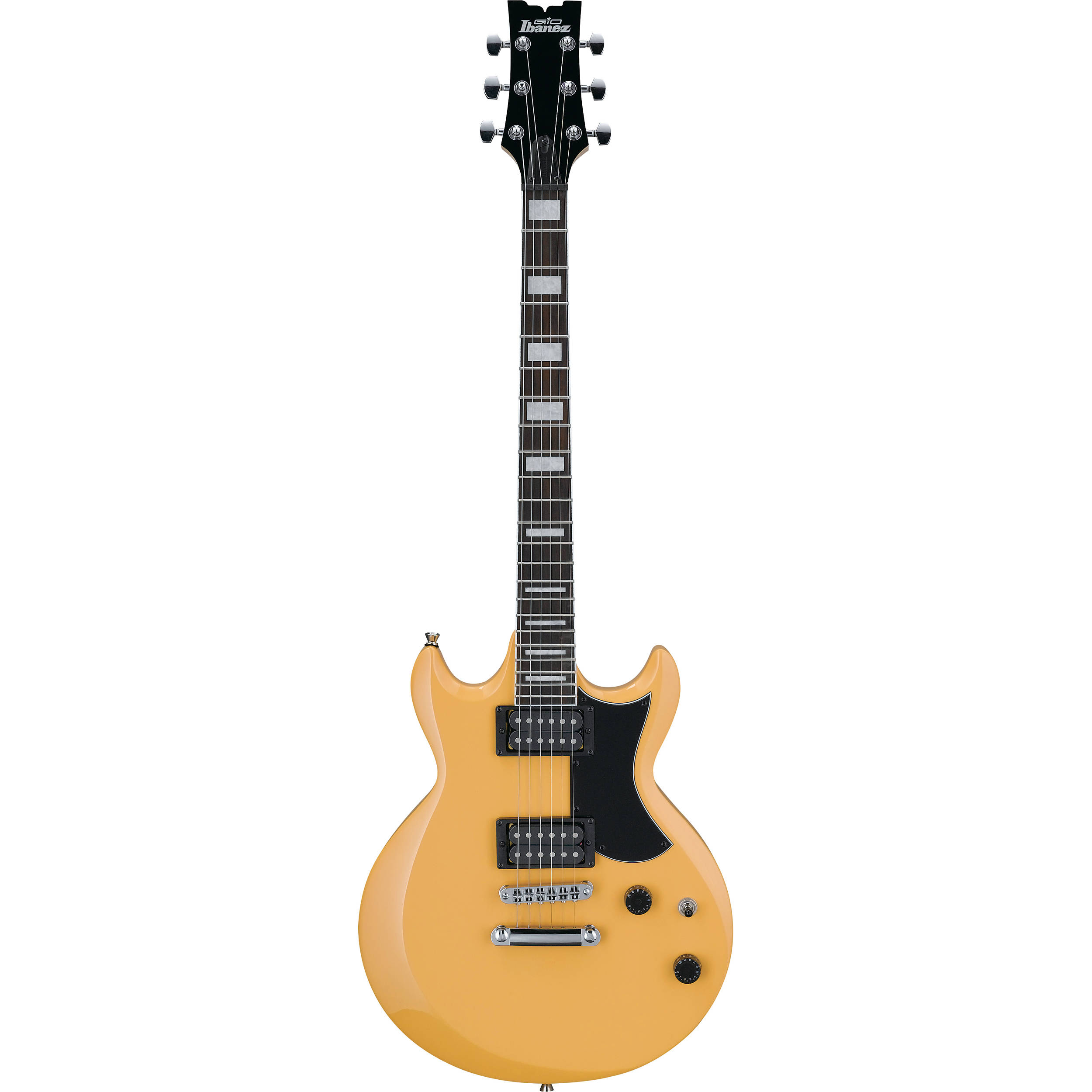 ibanez gax30 gio series electric guitar mustard gax30mst b h. Black Bedroom Furniture Sets. Home Design Ideas