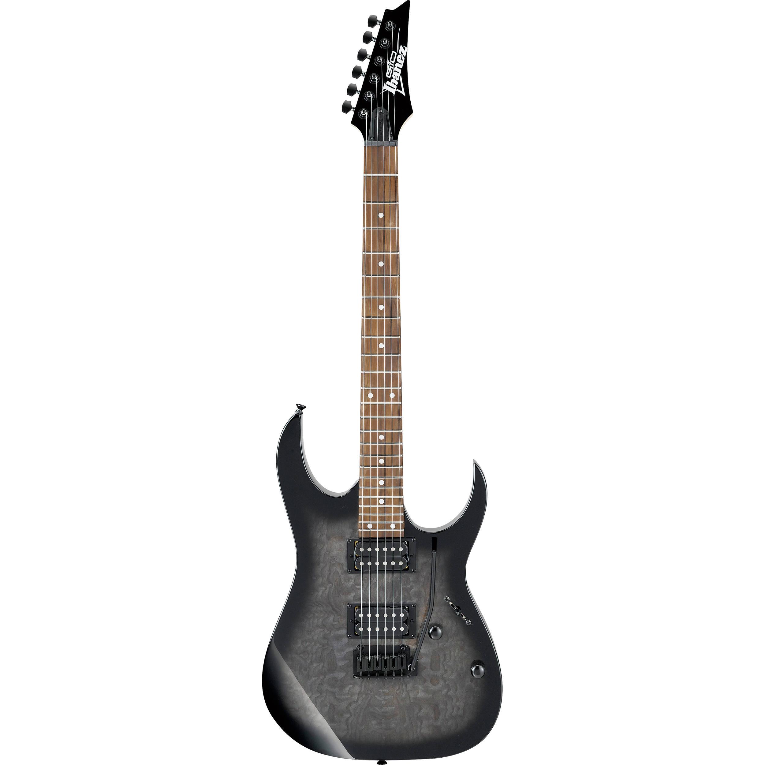 ibanez grga120qh rg series electric guitar grg120qhtks b h photo. Black Bedroom Furniture Sets. Home Design Ideas