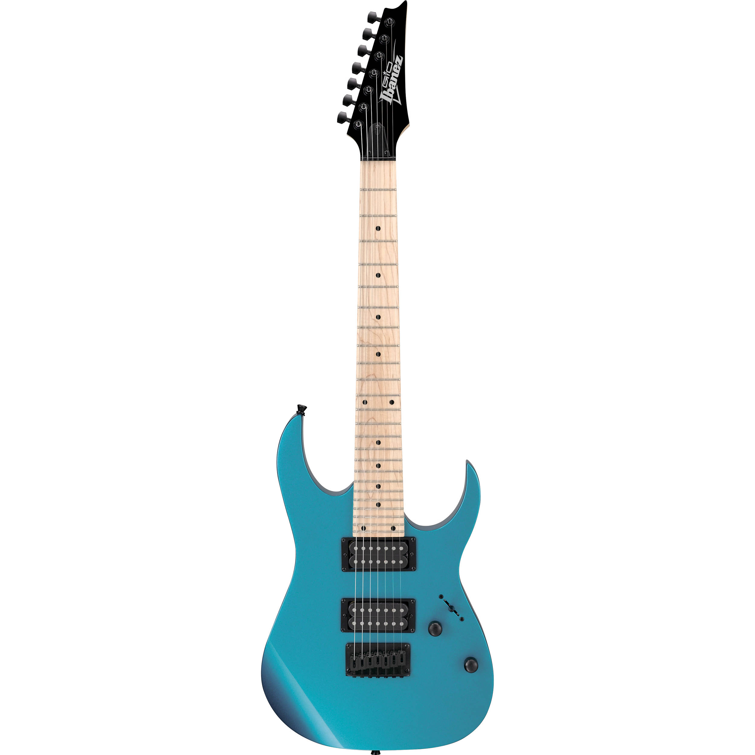 ibanez grg7221m gio series 7 string electric guitar grg7221mmlb. Black Bedroom Furniture Sets. Home Design Ideas