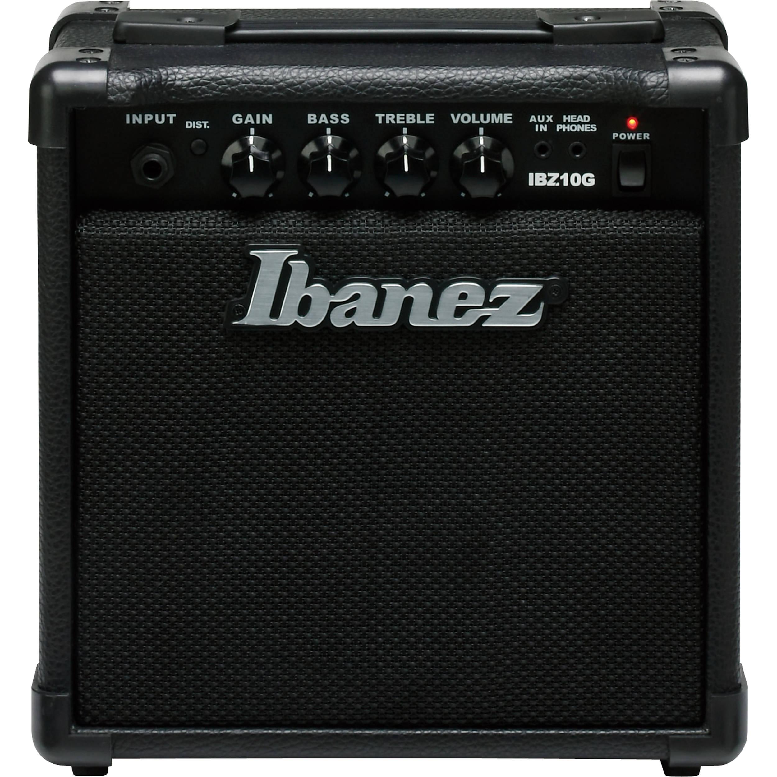 ibanez ibz10g 10w guitar combo amplifier ibz10g b h photo video. Black Bedroom Furniture Sets. Home Design Ideas