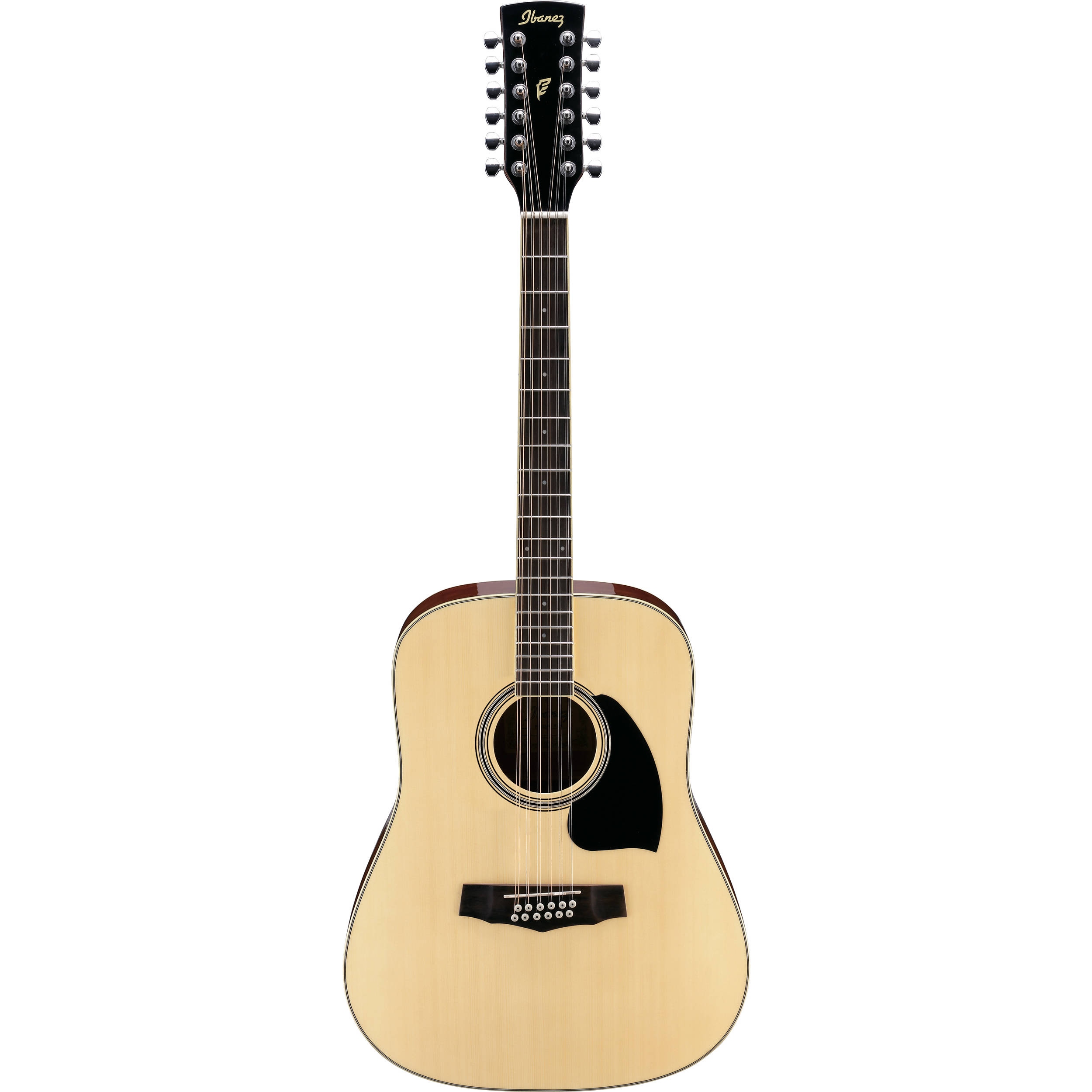 ibanez pf1512 pf performance series 12 string acoustic pf1512nt. Black Bedroom Furniture Sets. Home Design Ideas