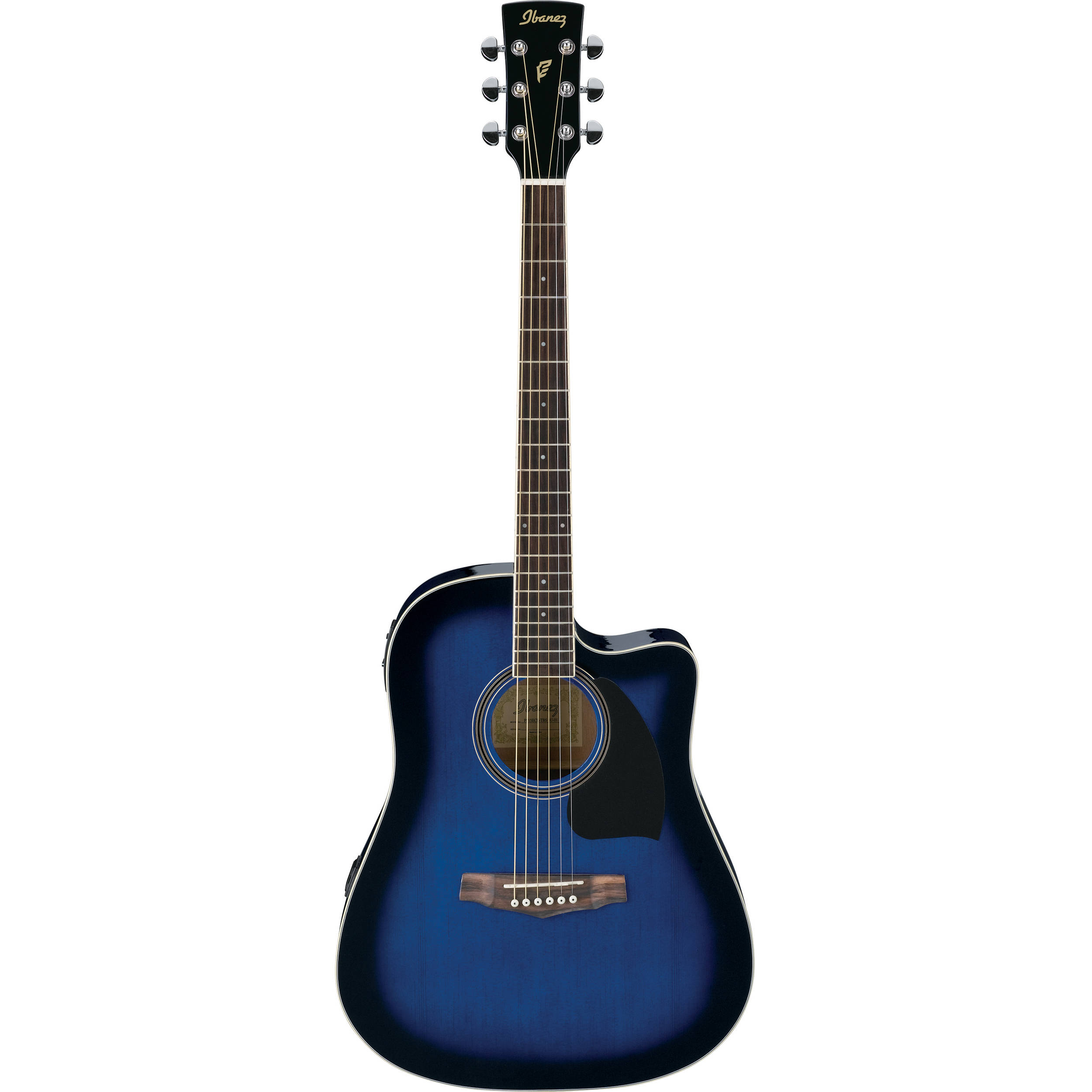 ibanez pf15ece pf performance series acoustic electric. Black Bedroom Furniture Sets. Home Design Ideas