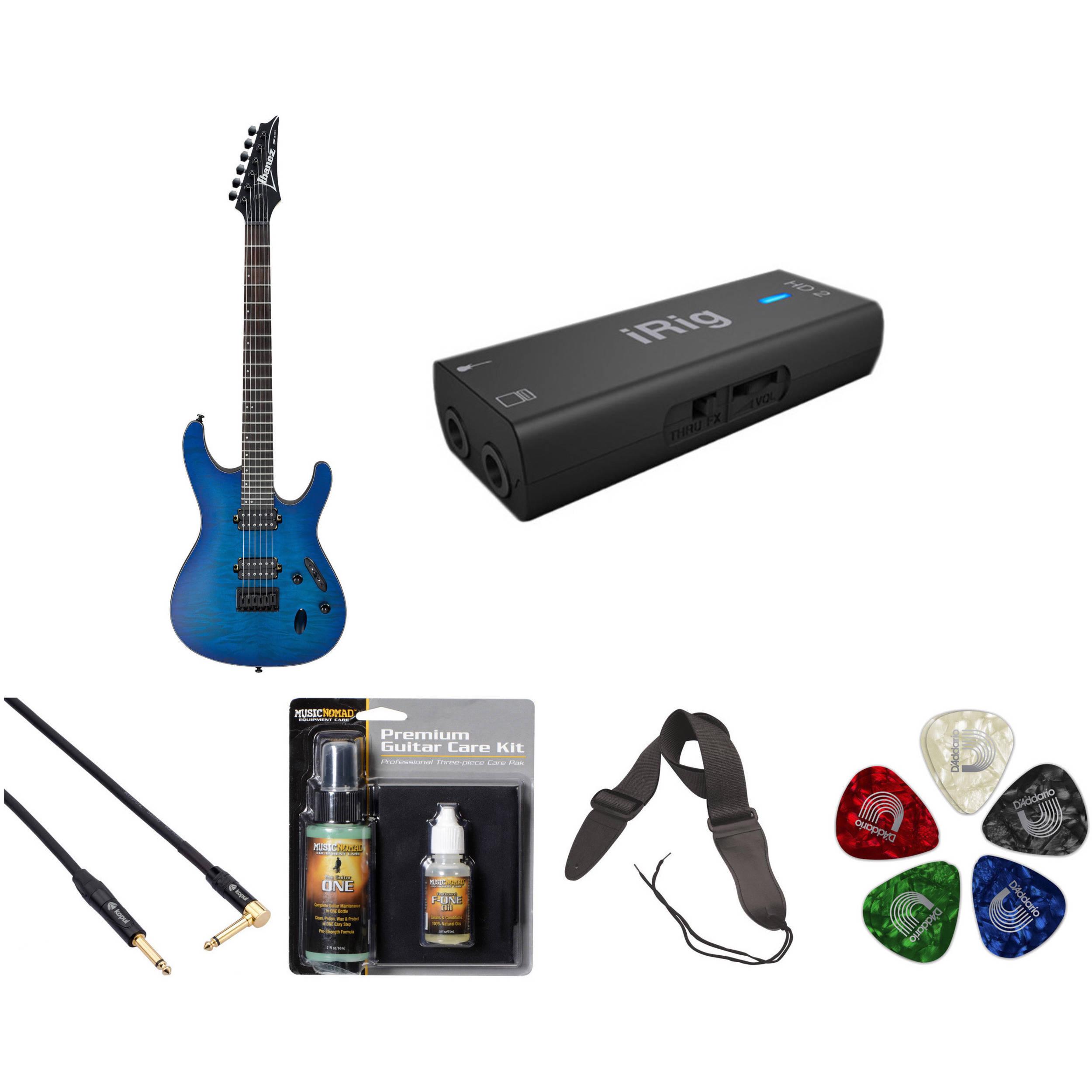 ibanez s621qm s standard series electric guitar recording b h. Black Bedroom Furniture Sets. Home Design Ideas