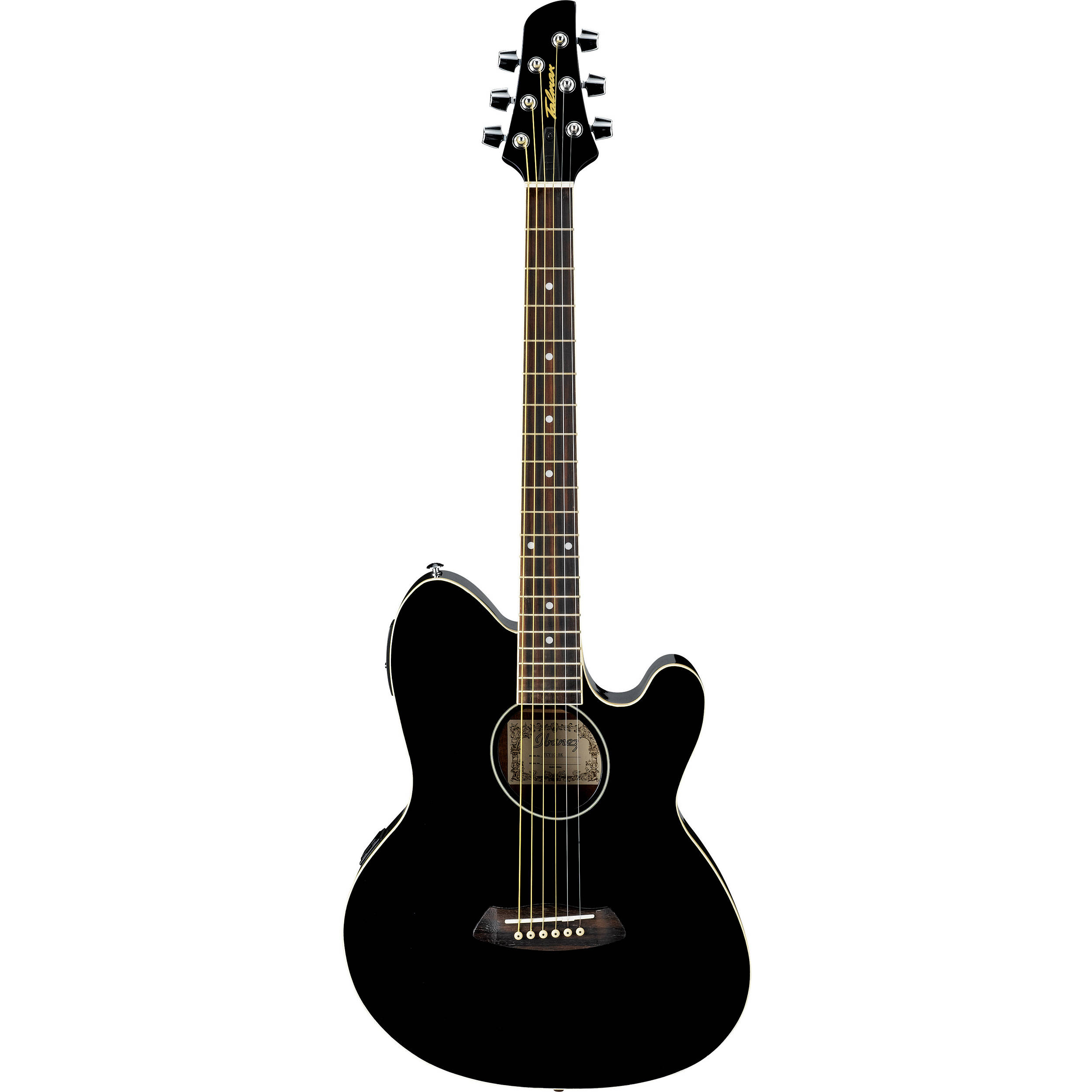 ibanez tcy10e talman series acoustic electric guitar tcy10ebk. Black Bedroom Furniture Sets. Home Design Ideas
