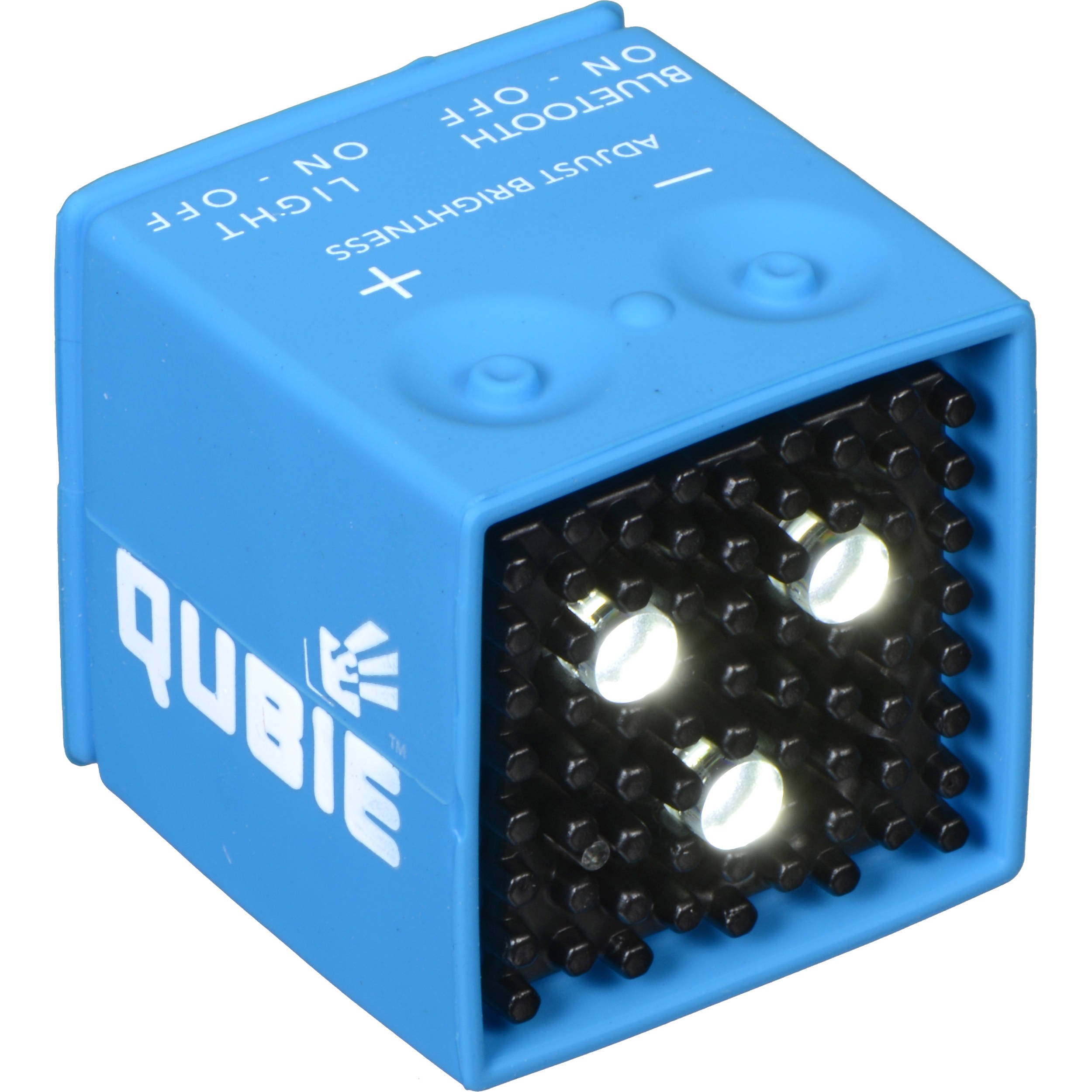 ic one two the qubie bluetooth micro led strobe icqb blu v01. Black Bedroom Furniture Sets. Home Design Ideas