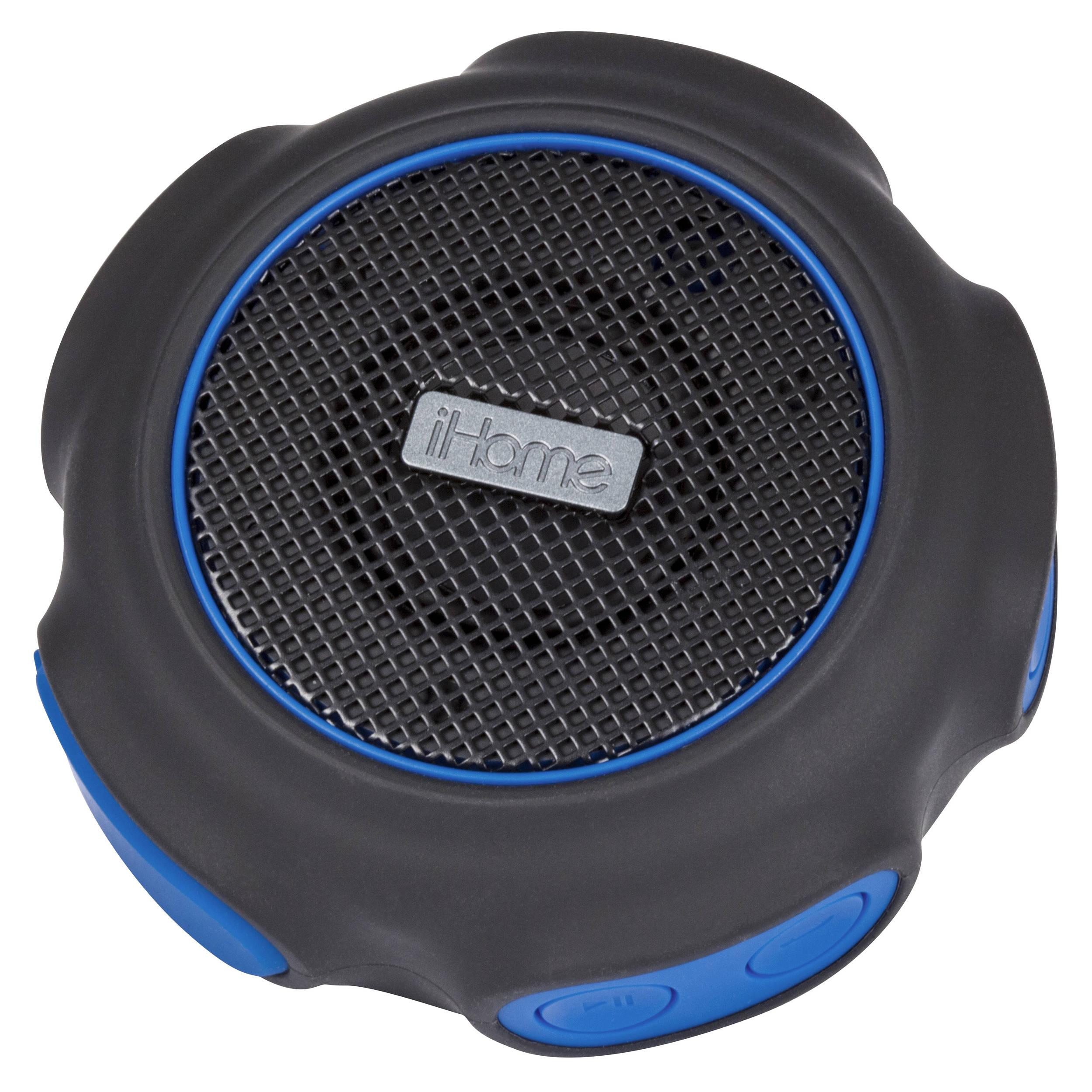 Ihome Ibt82 Waterproof Bluetooth Speaker Ibt82bl B H Photo
