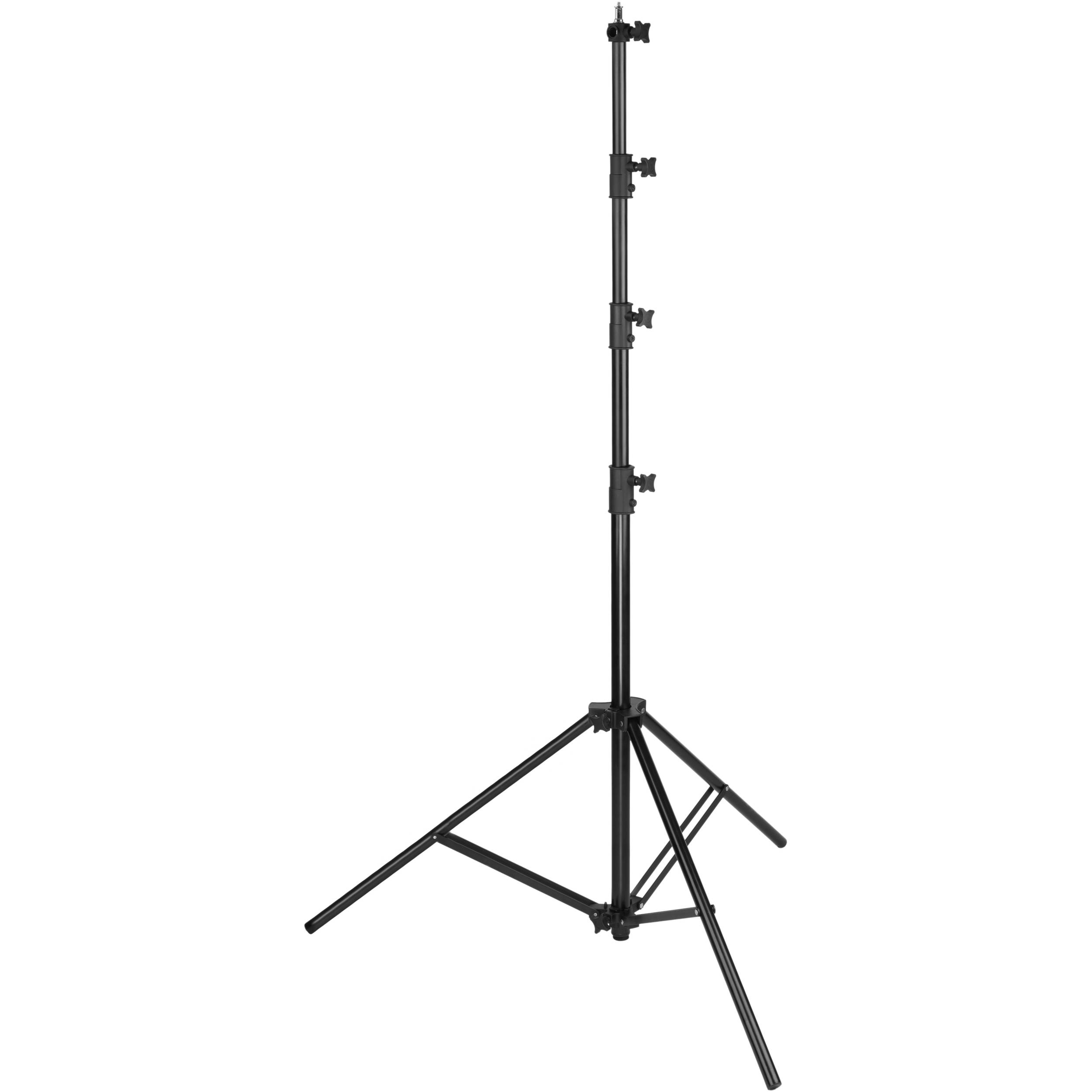 Impact Heavy Duty Light Stand Black 13 Ls 13hbi Bh Photo