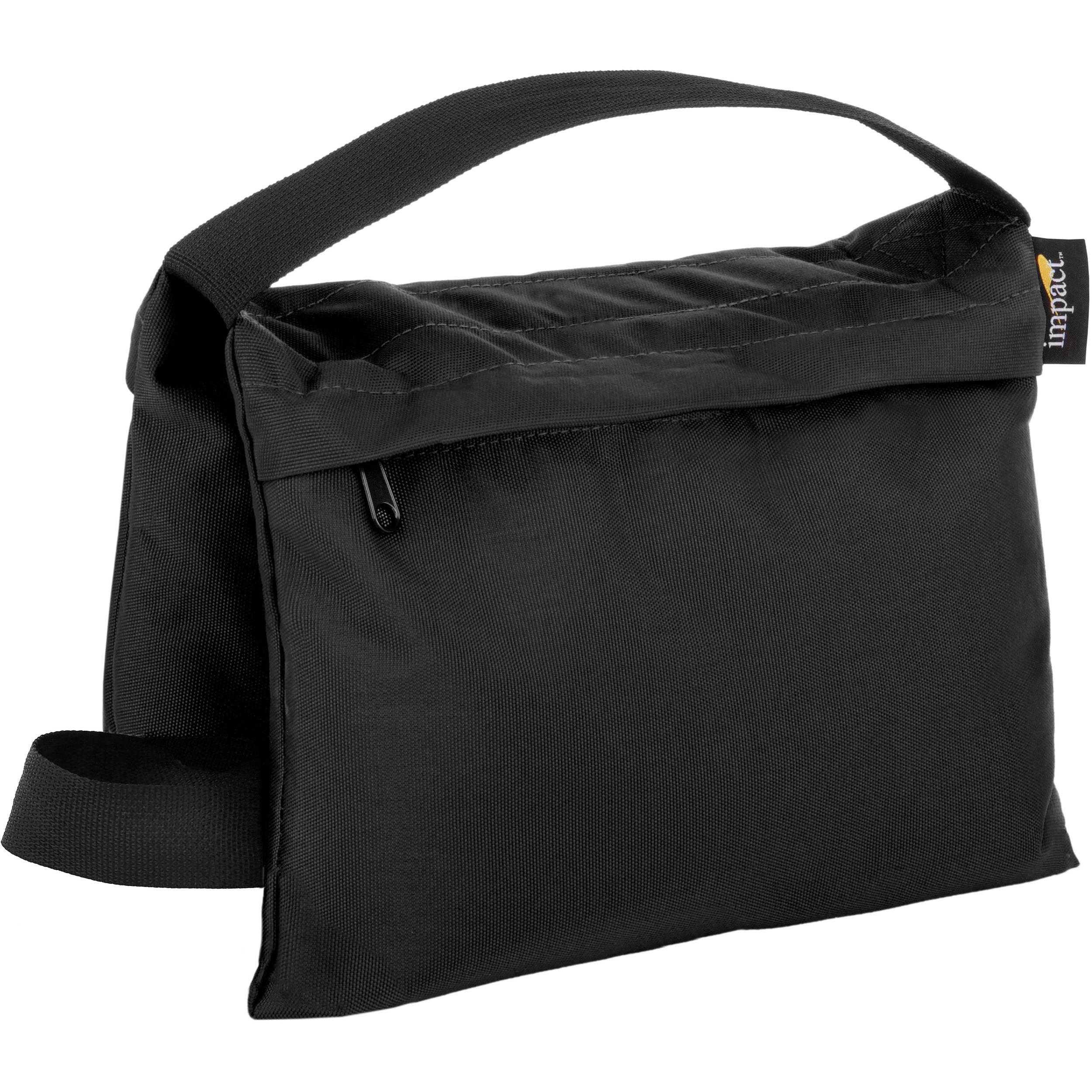 BLACK WITH BLUE HANDLE SAND BAG 20LB