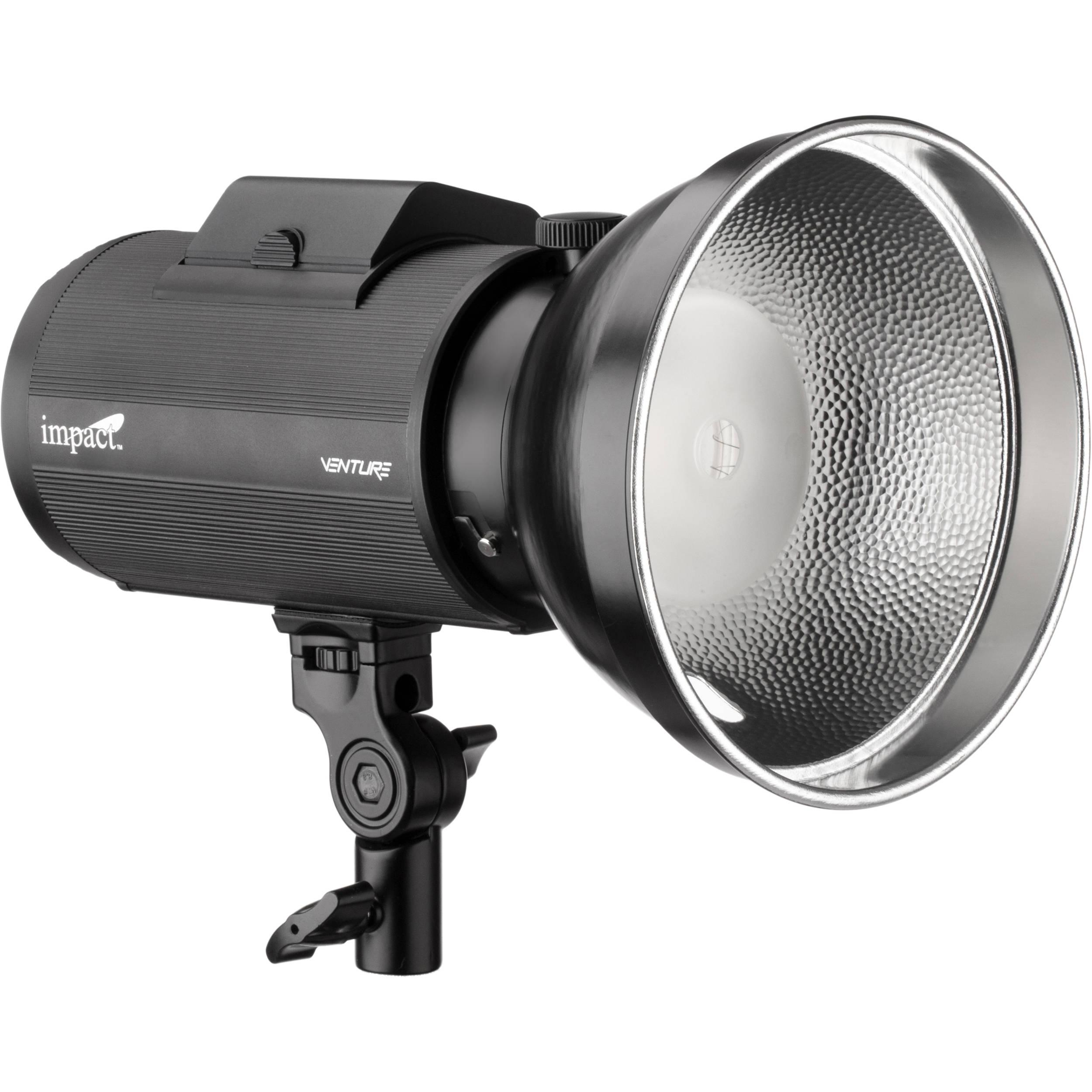 Impact Venture TTL-600 Battery-Powered Monolight  sc 1 st  Bu0026H & Impact Battery Powered Strobe Lighting | Bu0026H Photo Video azcodes.com