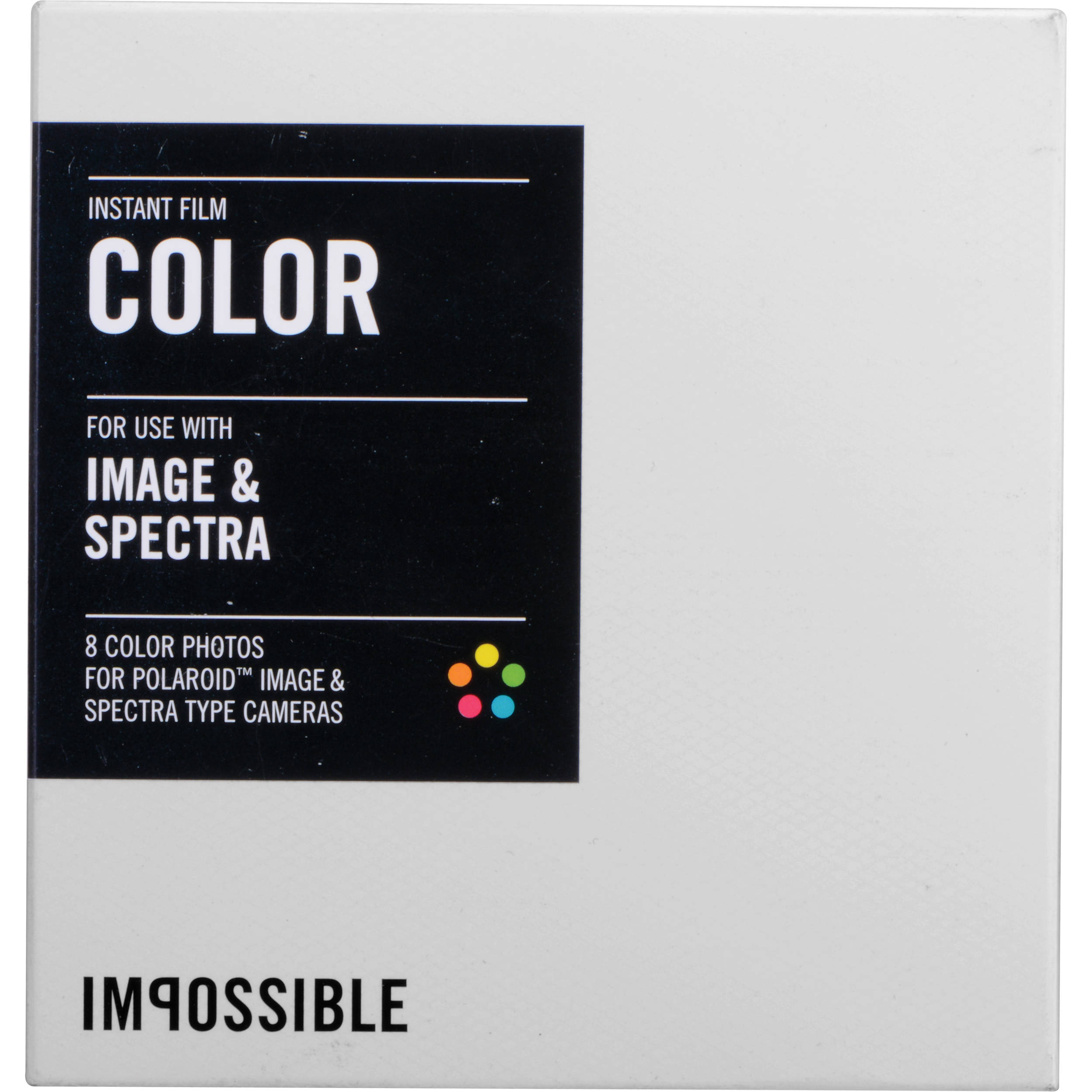 Bien connu Impossible Color Instant Film for Polaroid Image/Spectra 2787 ZY32
