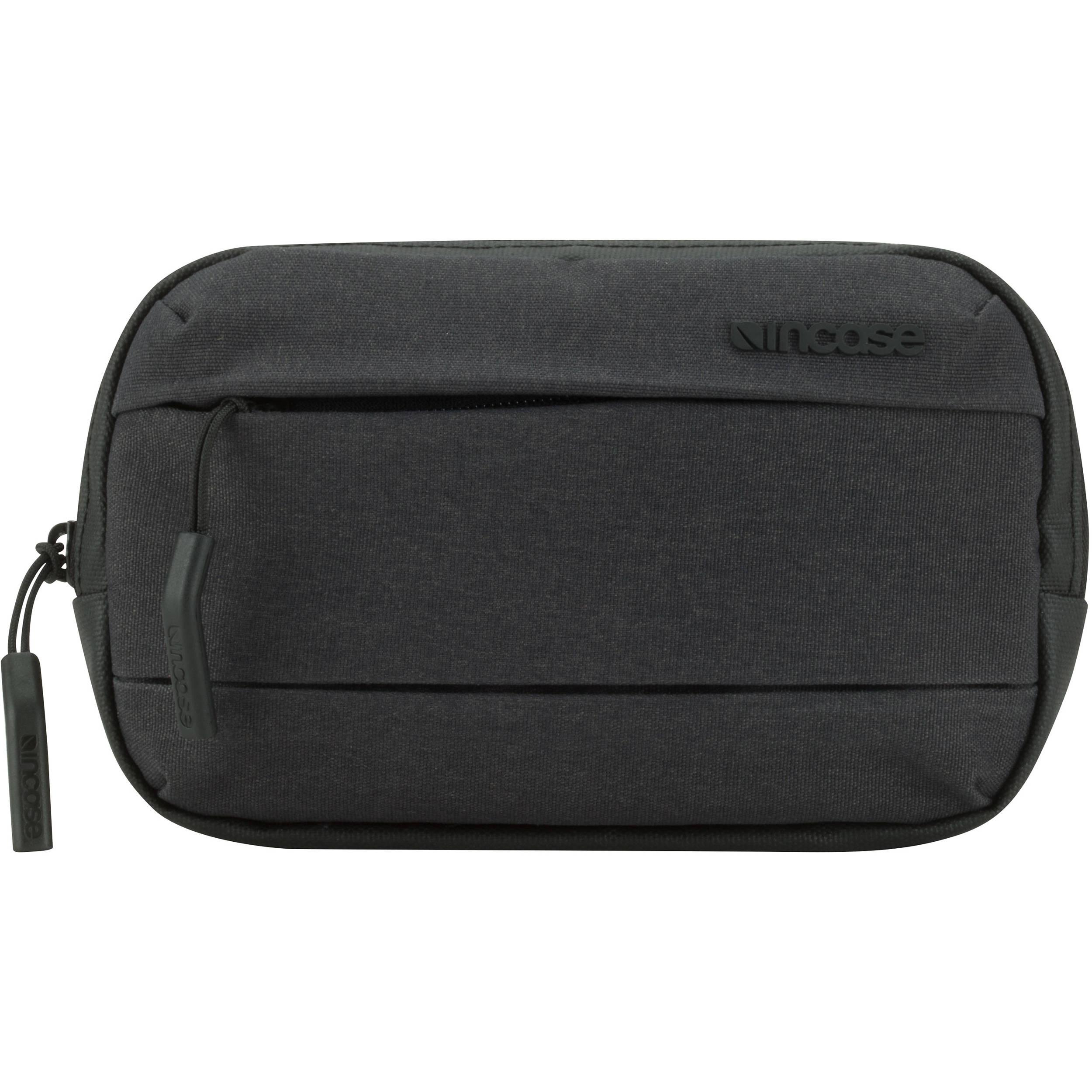 a93e29ad9bc Incase Designs Corp City Accessory Pouch (Black) INCO400174-BLK