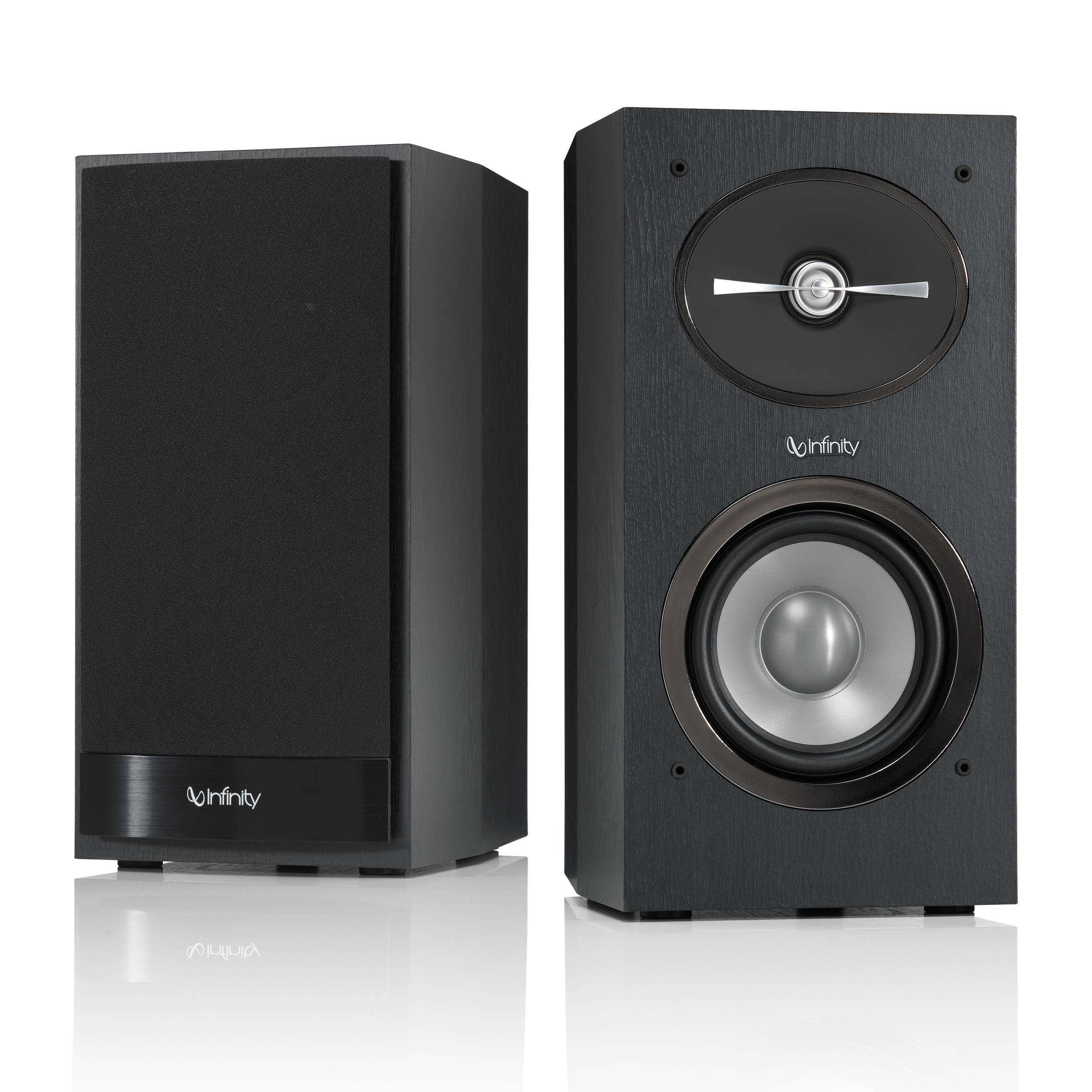 Infinity Reference R152 2-Way Bookshelf Speakers R152BK B&H
