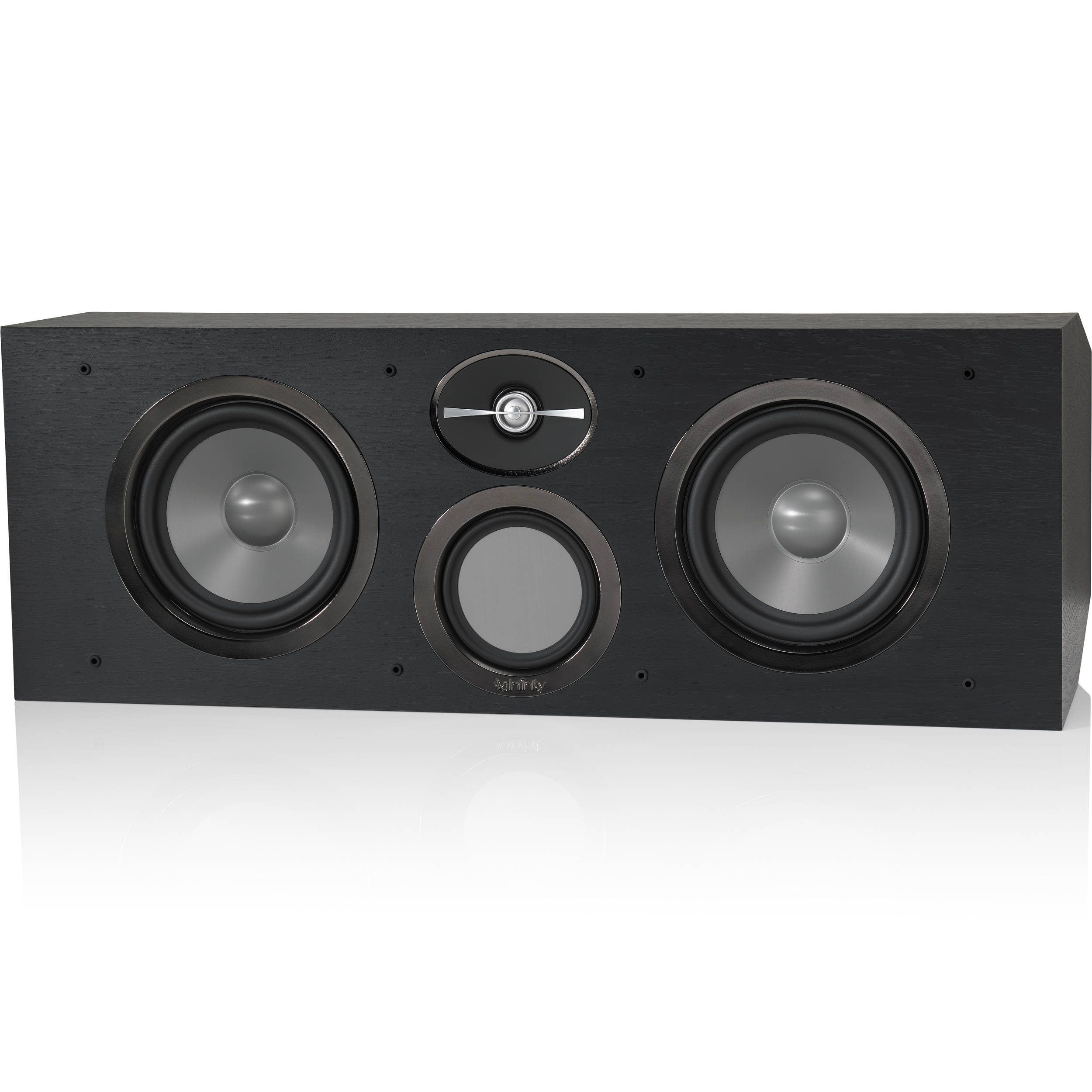 Infinity Reference Rc263 3 Way Center Channel Speaker Rc263bk