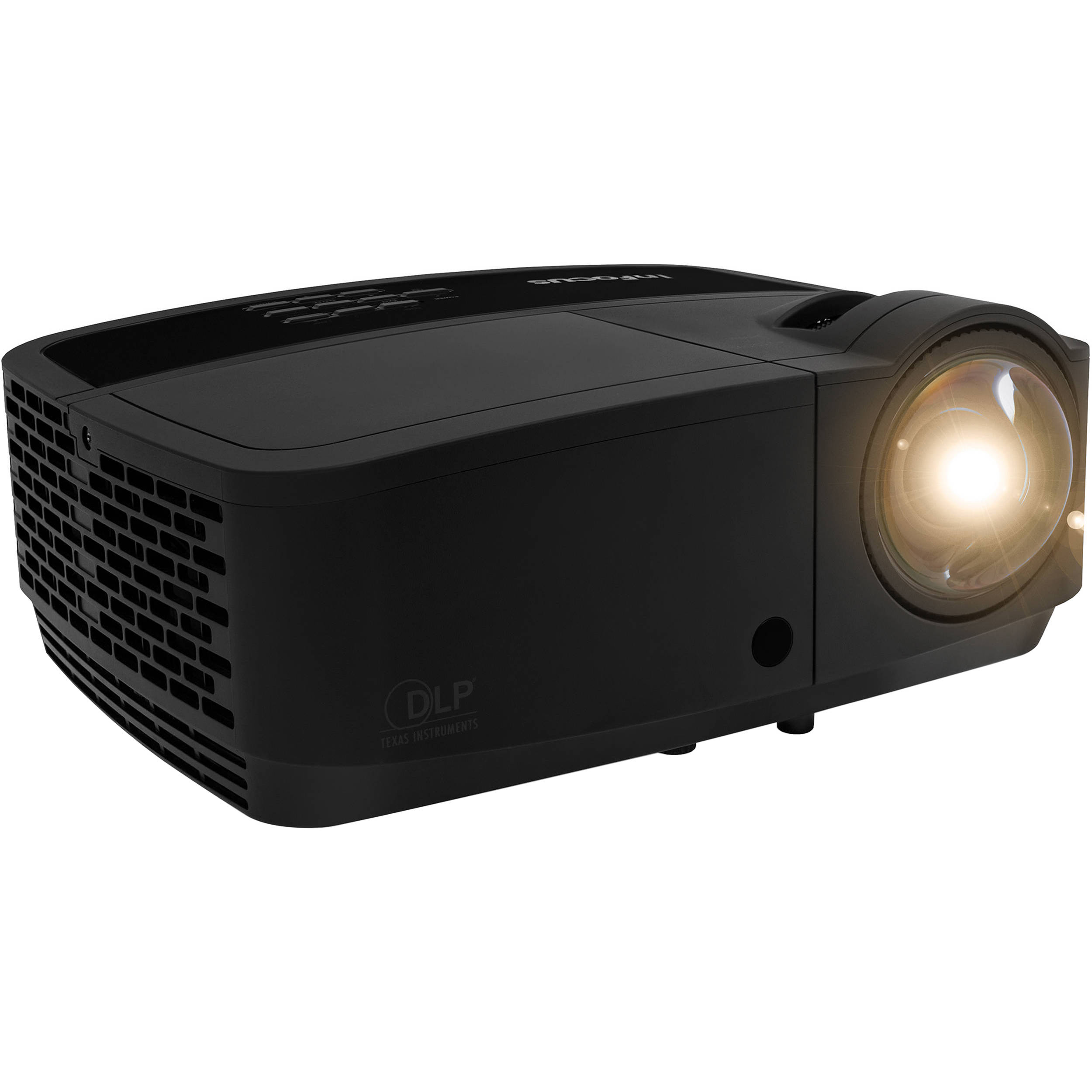 Infocus in128hdstx 3500 lumen full hd short in128hdstx b h for Hd projector
