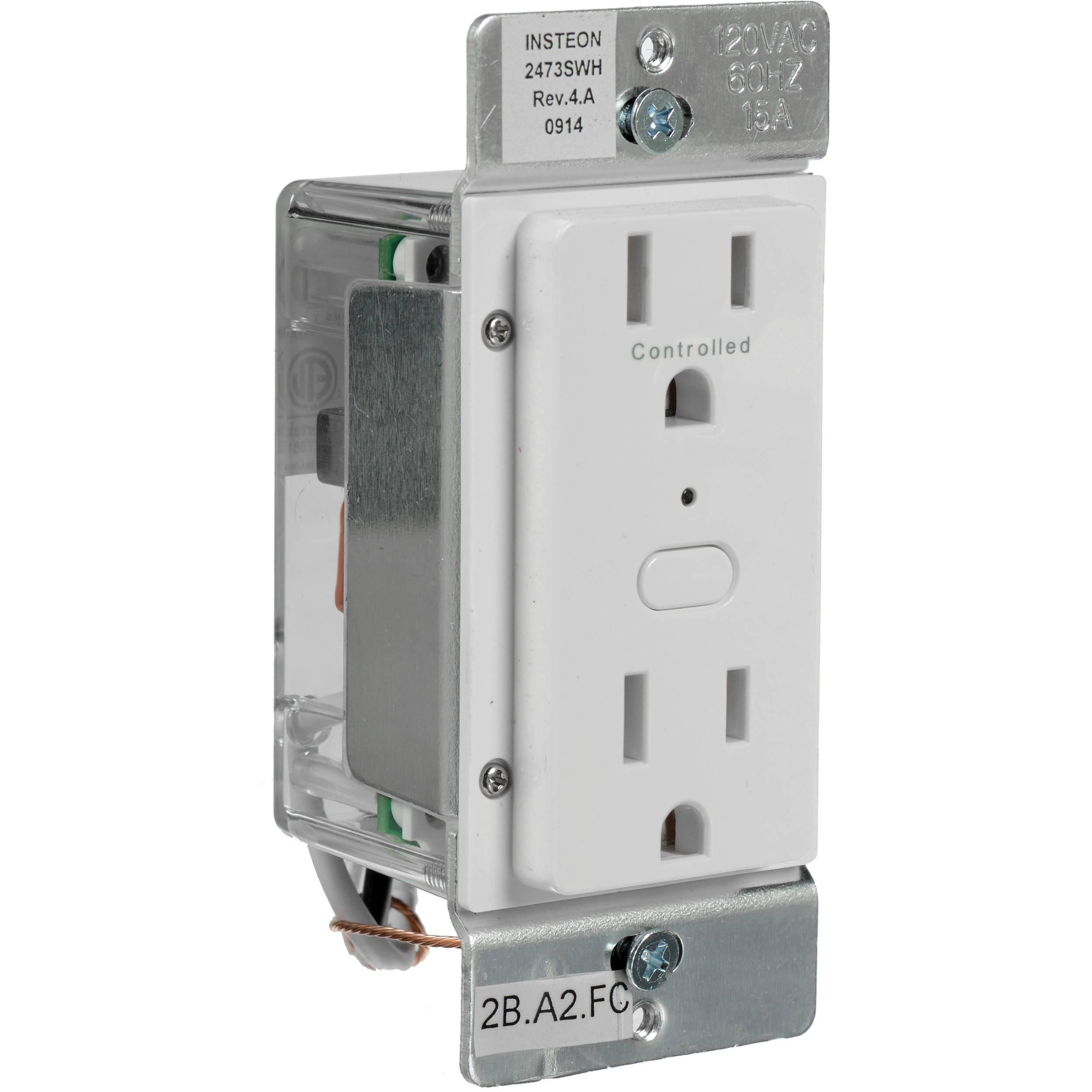 Insteon Outletlinc Remote Control Outlet 2663