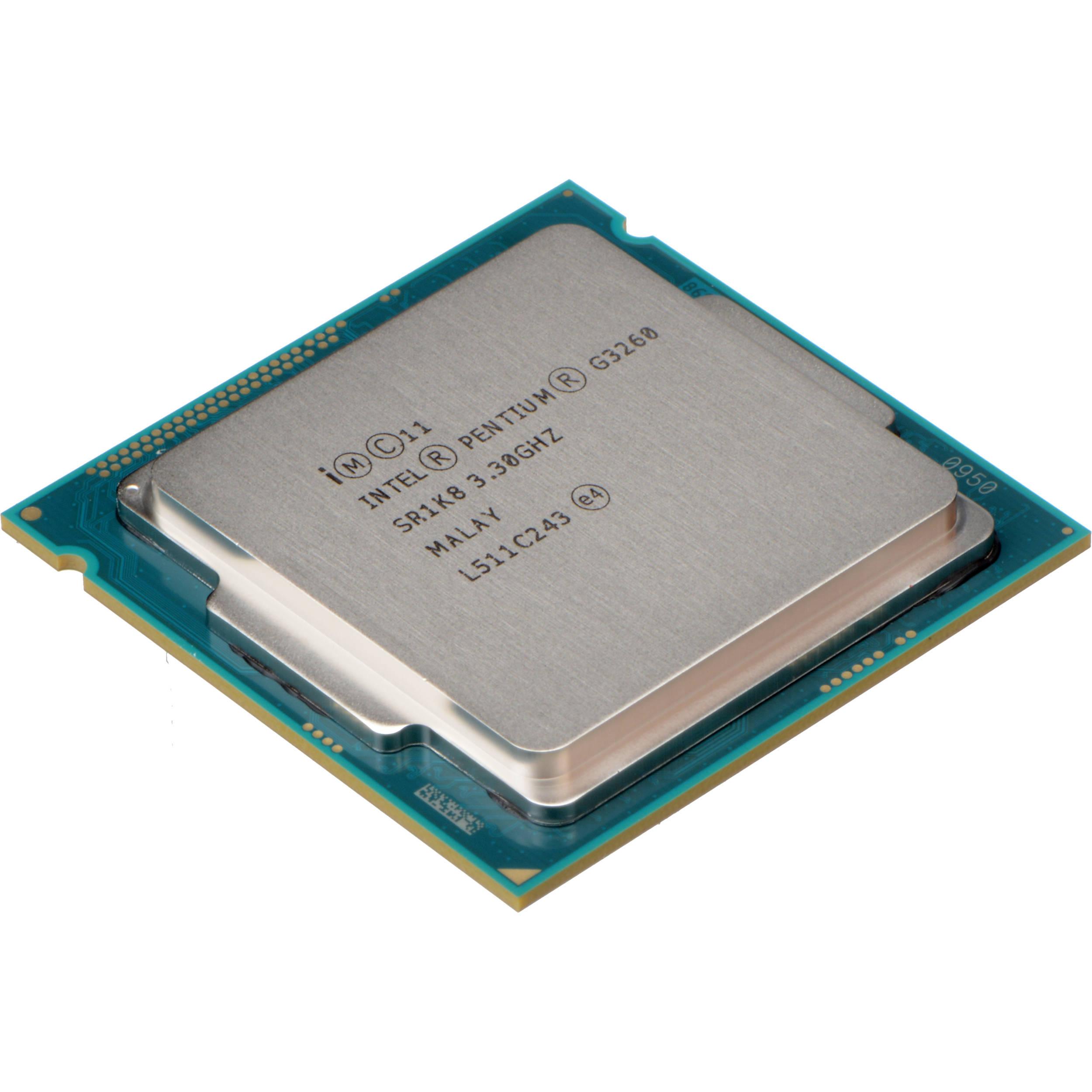 Intel Pentium G3260 3.3 GHz Dual-Core Processor ...