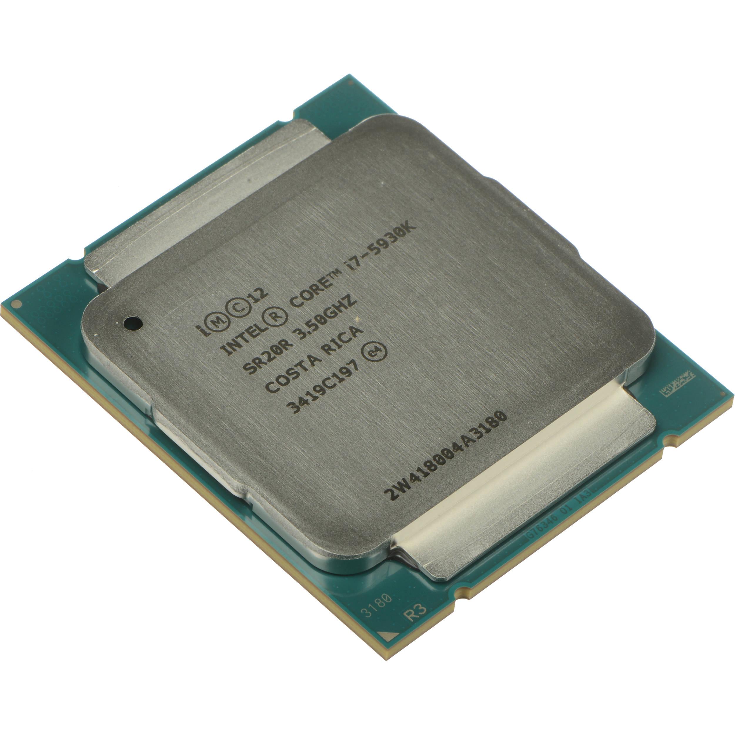 Intel Core i7-5930K 3.5 GHz Processor BX80648I75930K B&H Photo