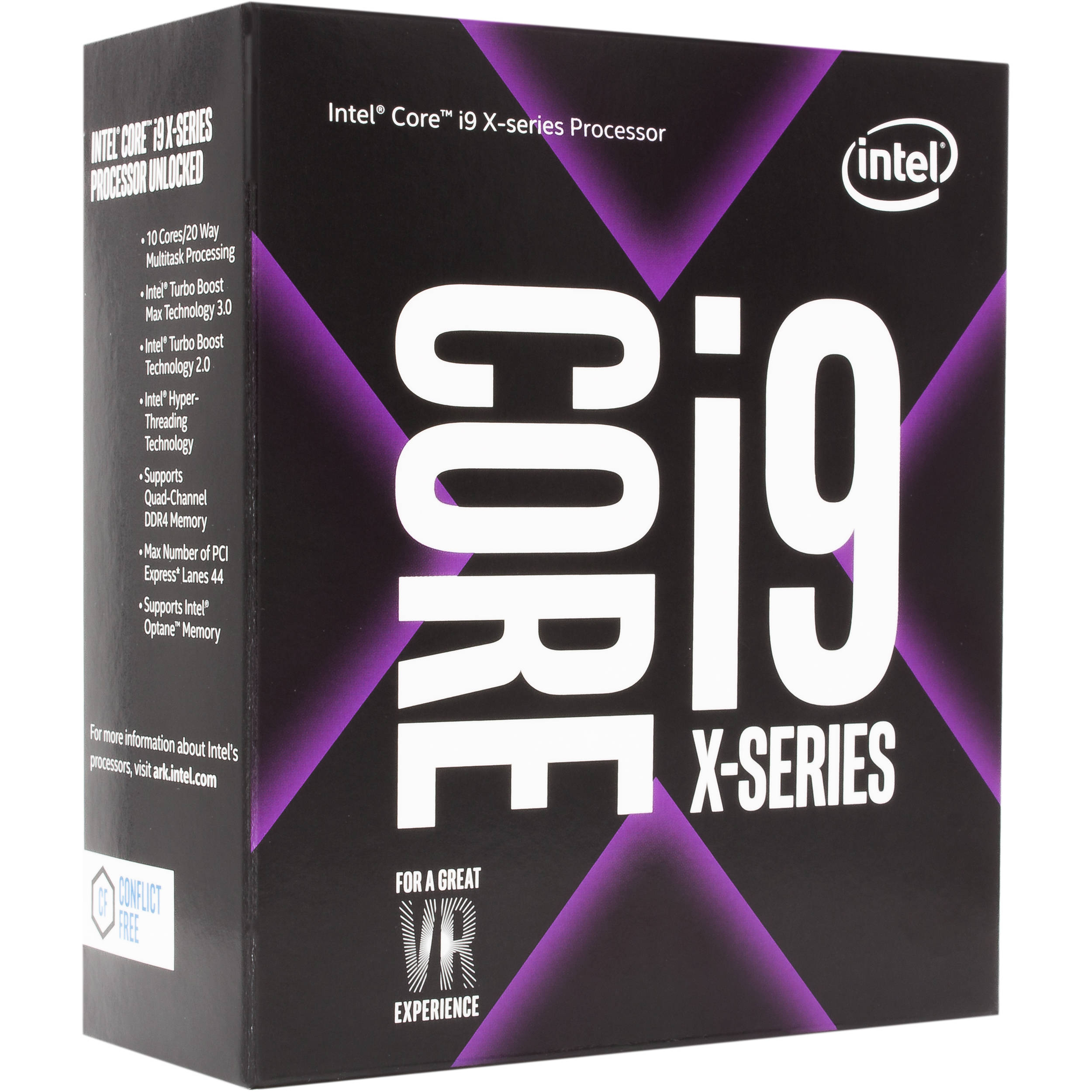 Procesador Intel Core i9 7900X 3.3Ghz Ten Core LGA2066 BX80673I97900X
