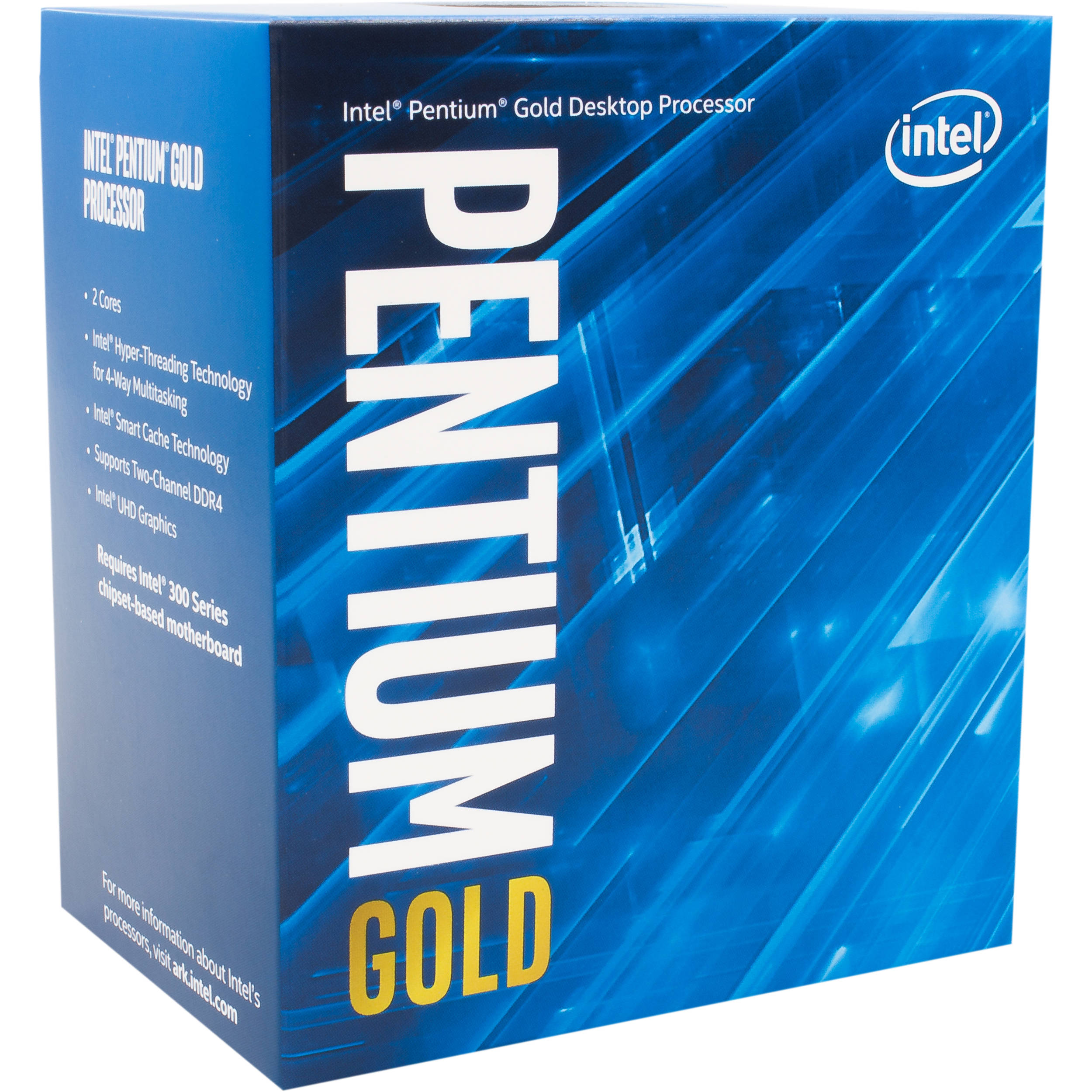 Intel Pentium G5400 3.7 GHz Dual-Core LGA 1151 ...