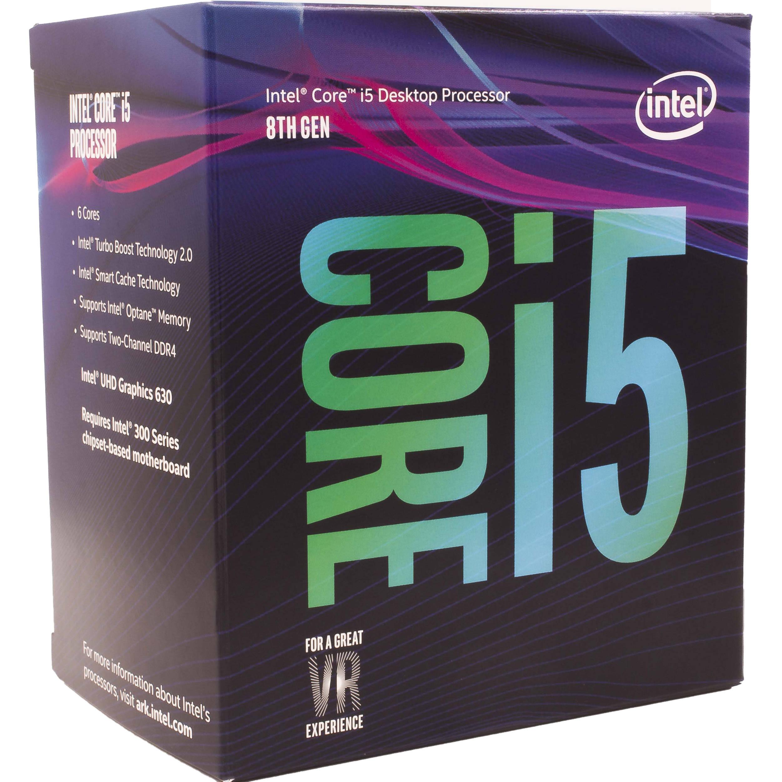 i5-8500 Intel CPU
