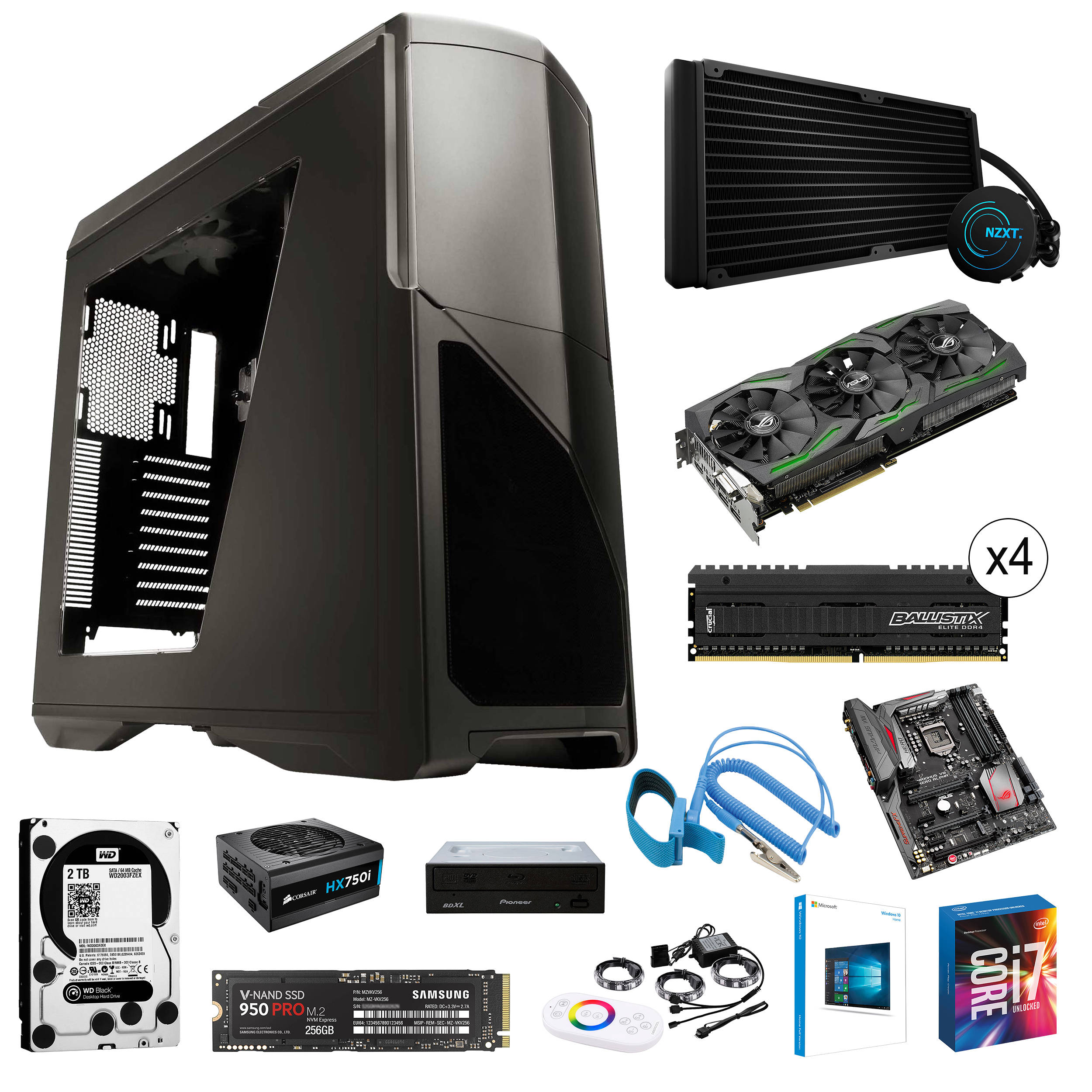 intel high end gaming computer build b h photo video. Black Bedroom Furniture Sets. Home Design Ideas