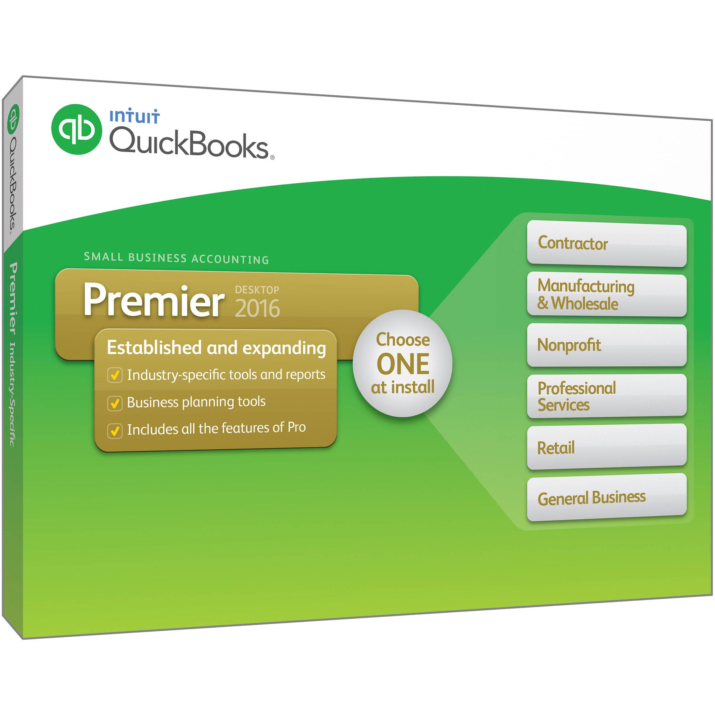 Intuit Quickbooks Premier Users