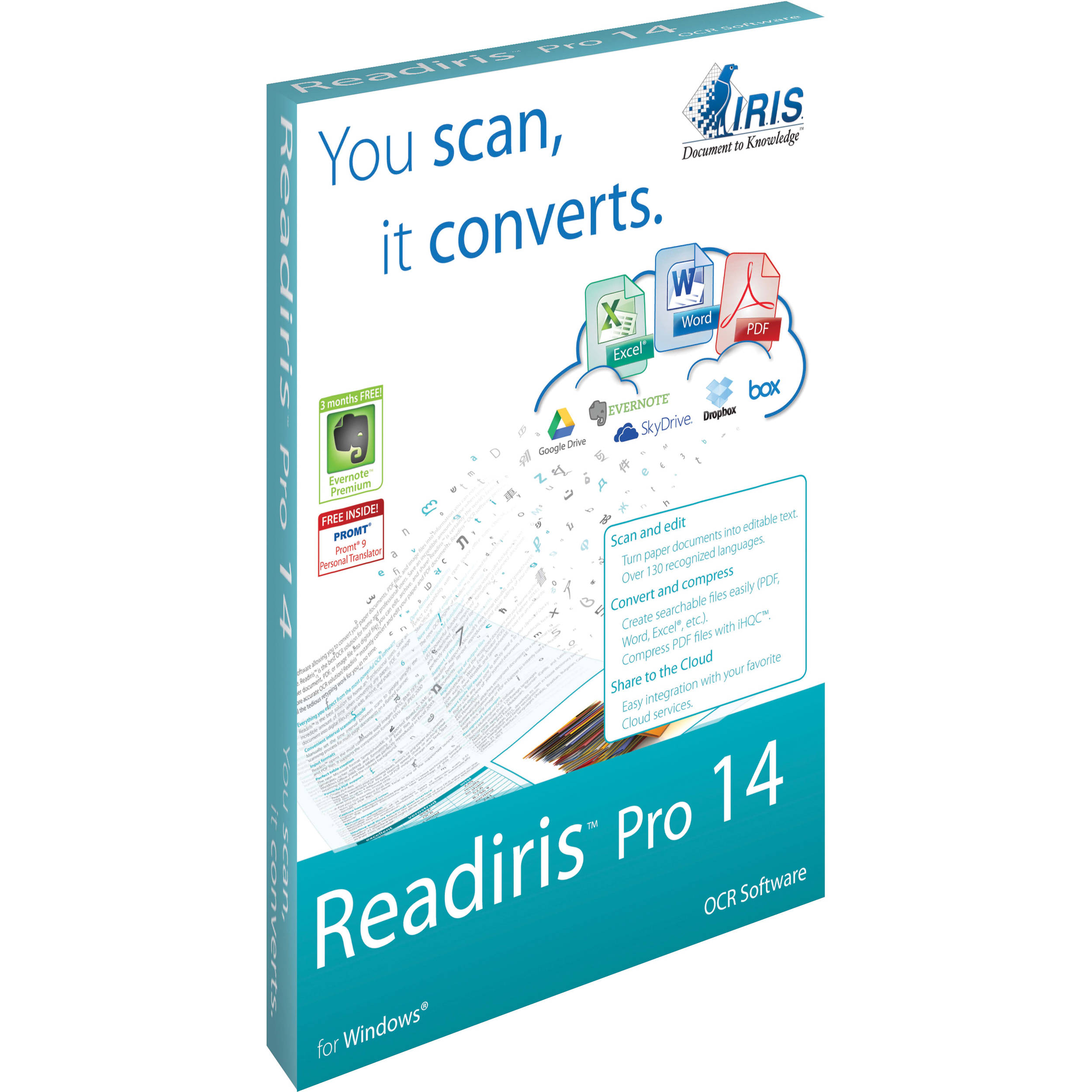 Readiris Pro 14 for HP Download and activation