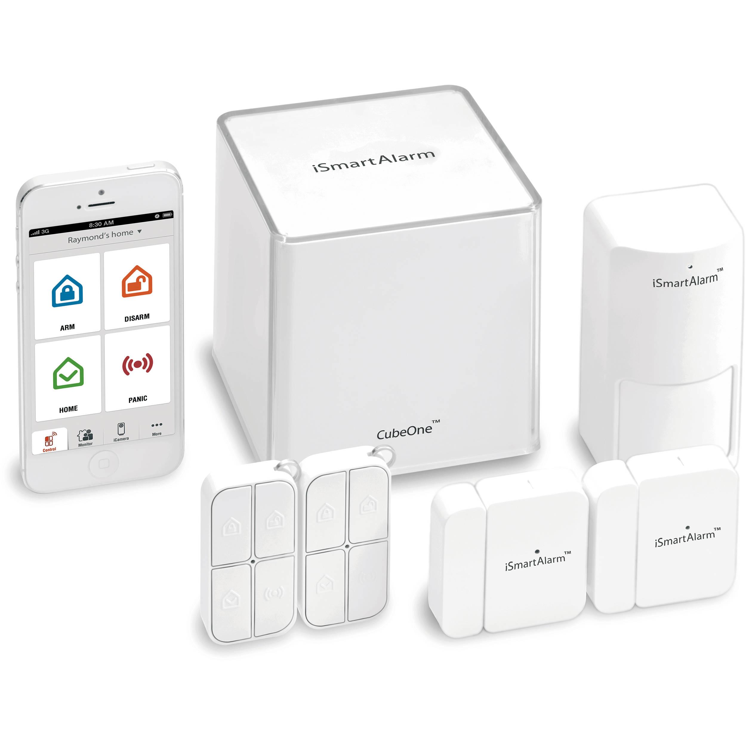 ismartalarm preferred package home security system isa3 b h. Black Bedroom Furniture Sets. Home Design Ideas