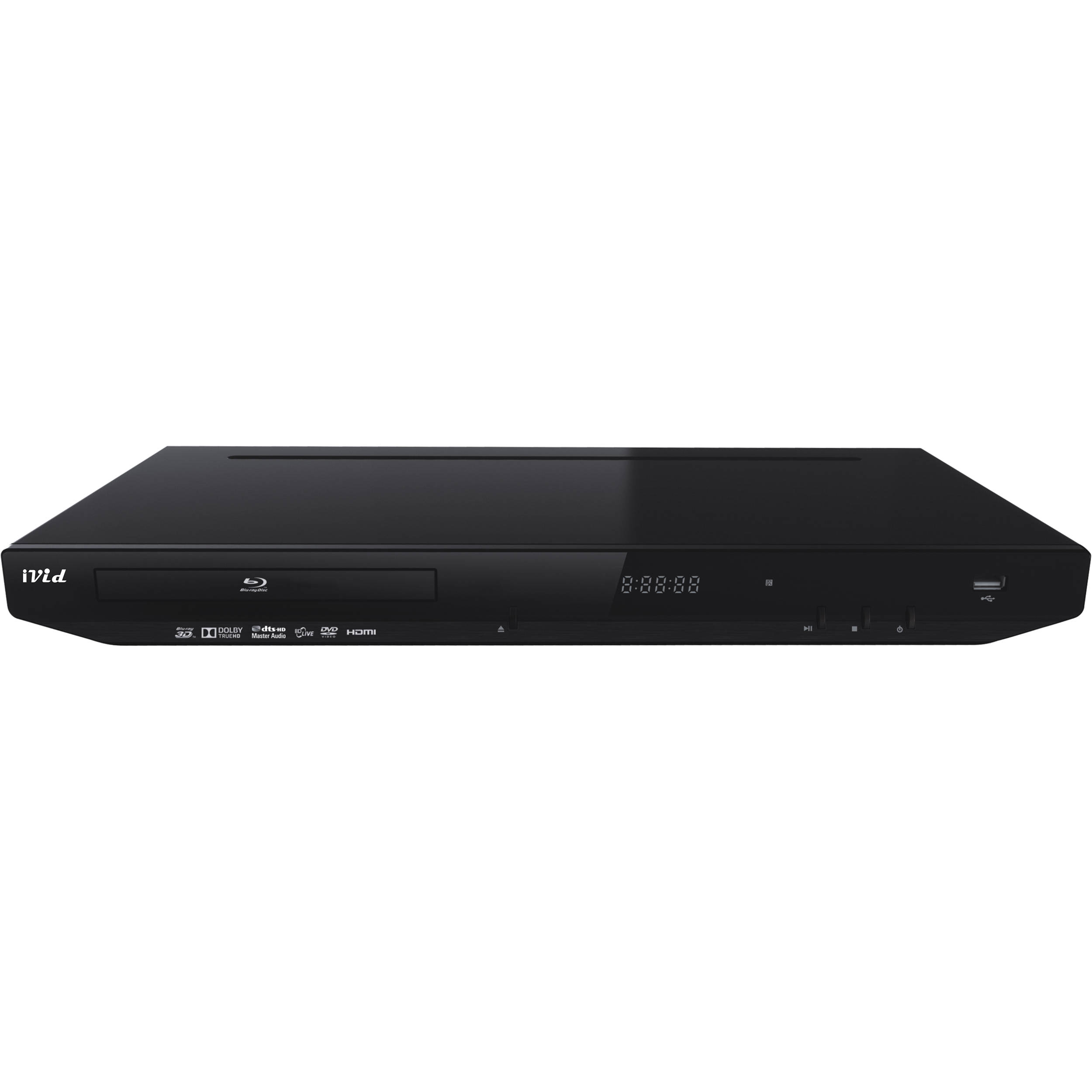 IVid BD-780 Multi-Region 3D Blu-ray Player BD780 B&H Photo